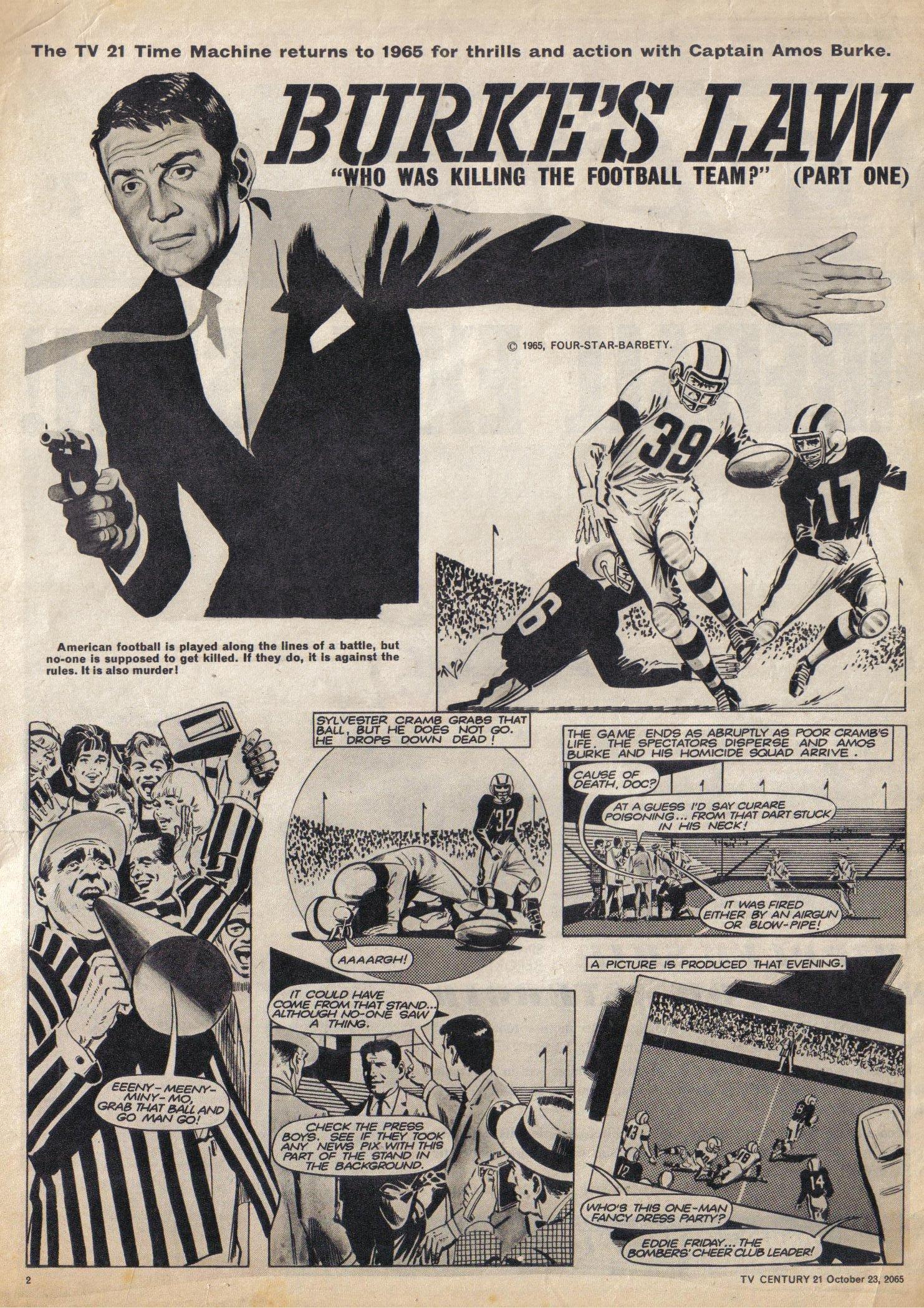 Read online TV Century 21 (TV 21) comic -  Issue #40 - 2