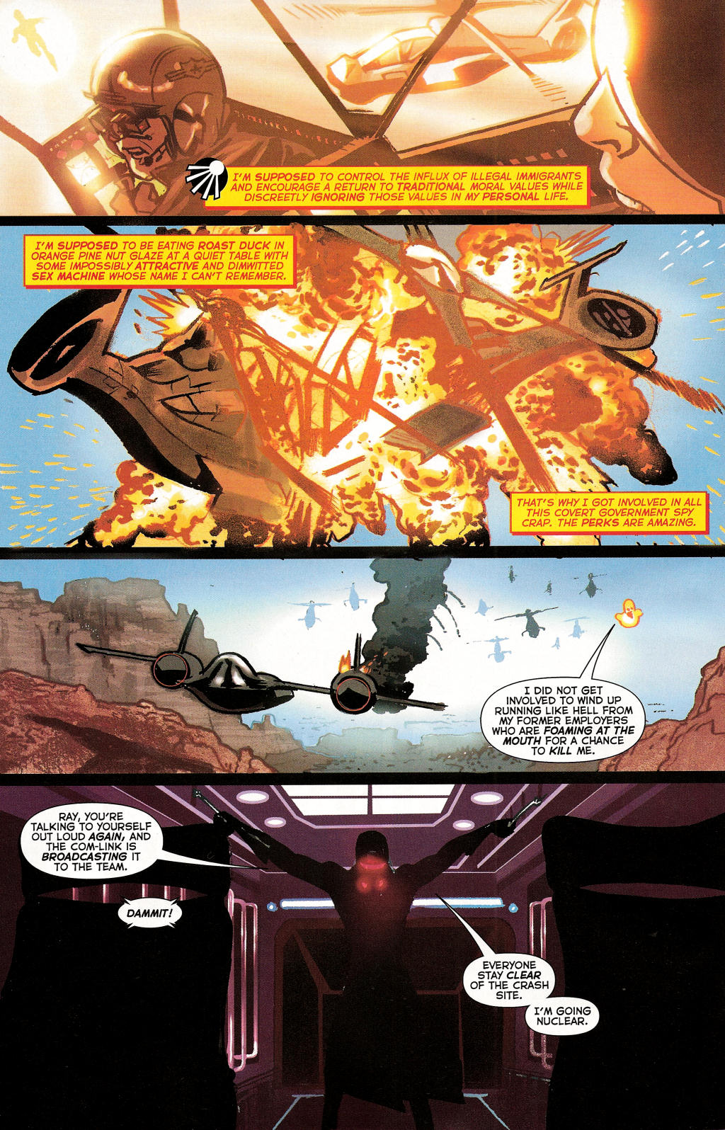 Read online Uncle Sam and the Freedom Fighters (2006) comic -  Issue #3 - 17