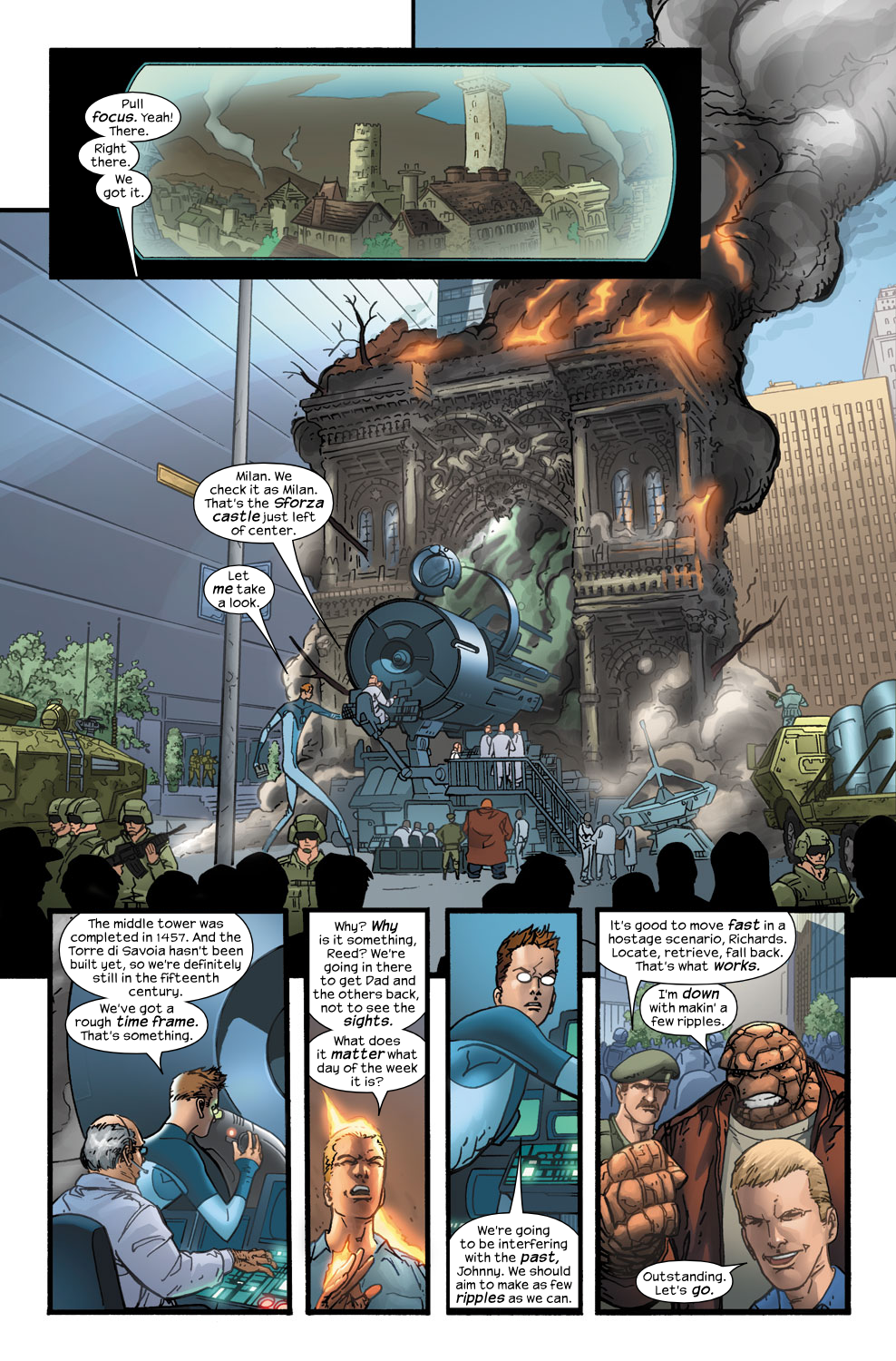 Read online Ultimate Fantastic Four (2004) comic -  Issue #40 - 3