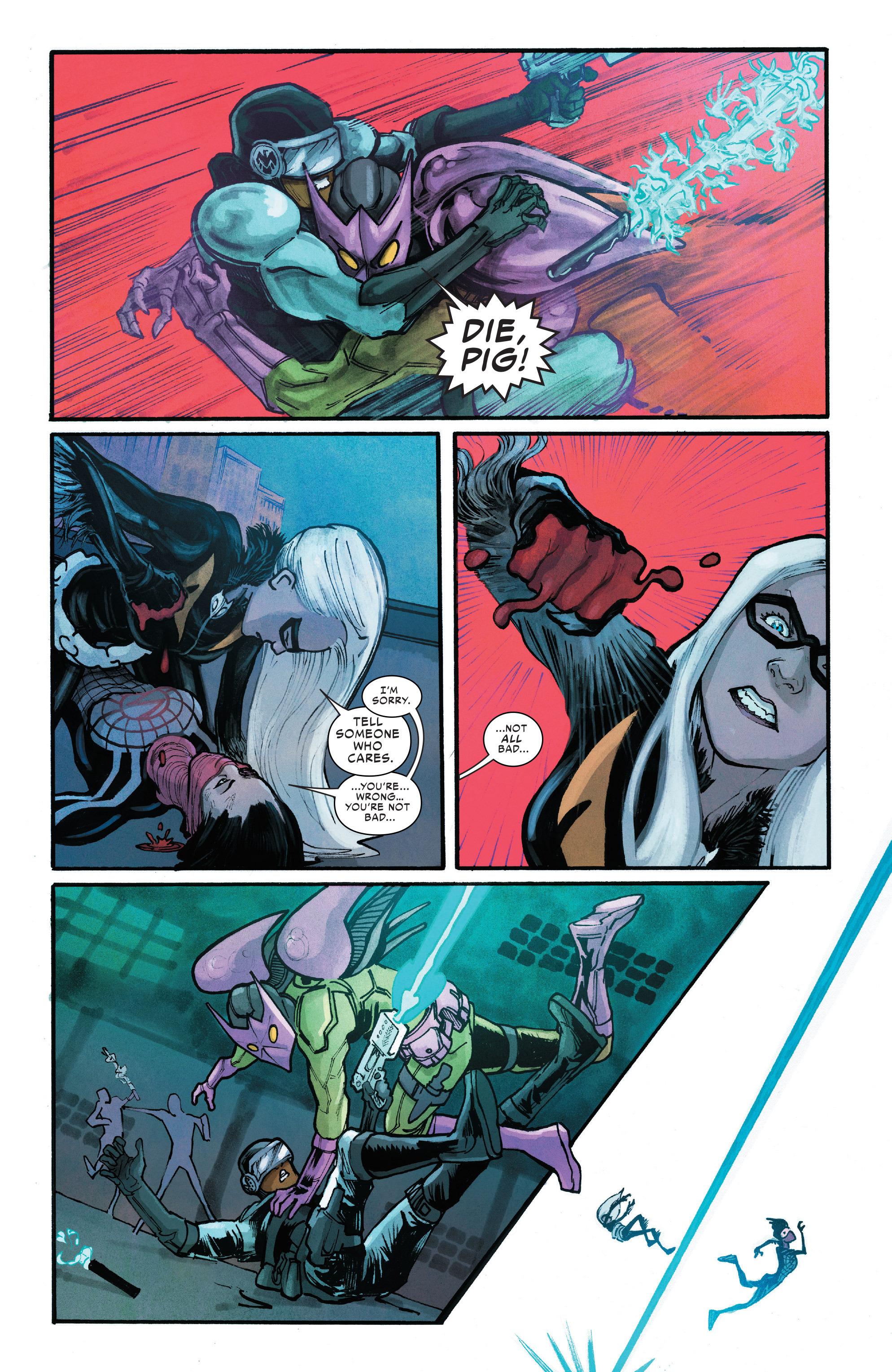 Read online Silk (2016) comic -  Issue #10 - 18