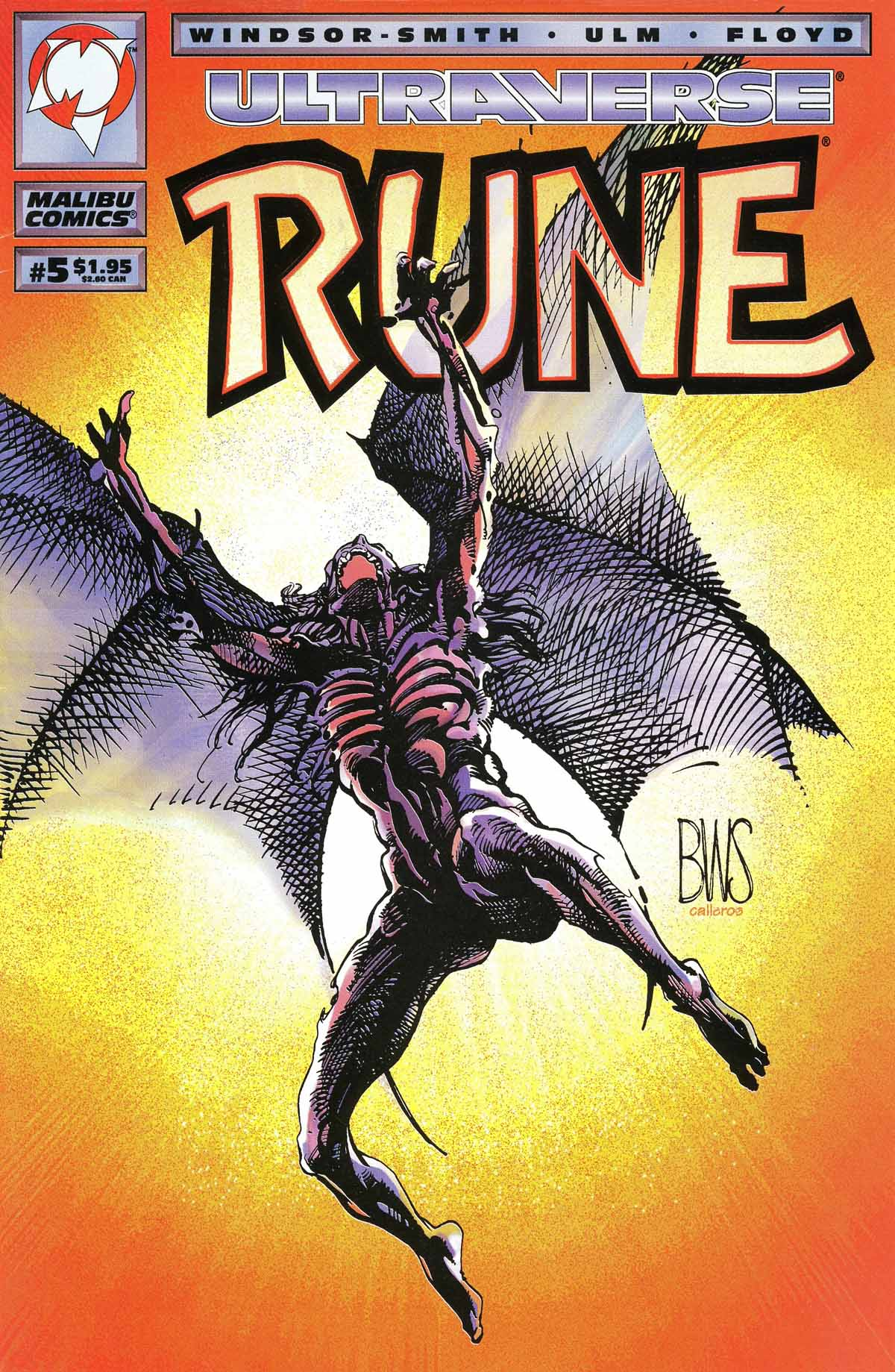 Read online Rune (1994) comic -  Issue #5 - 1