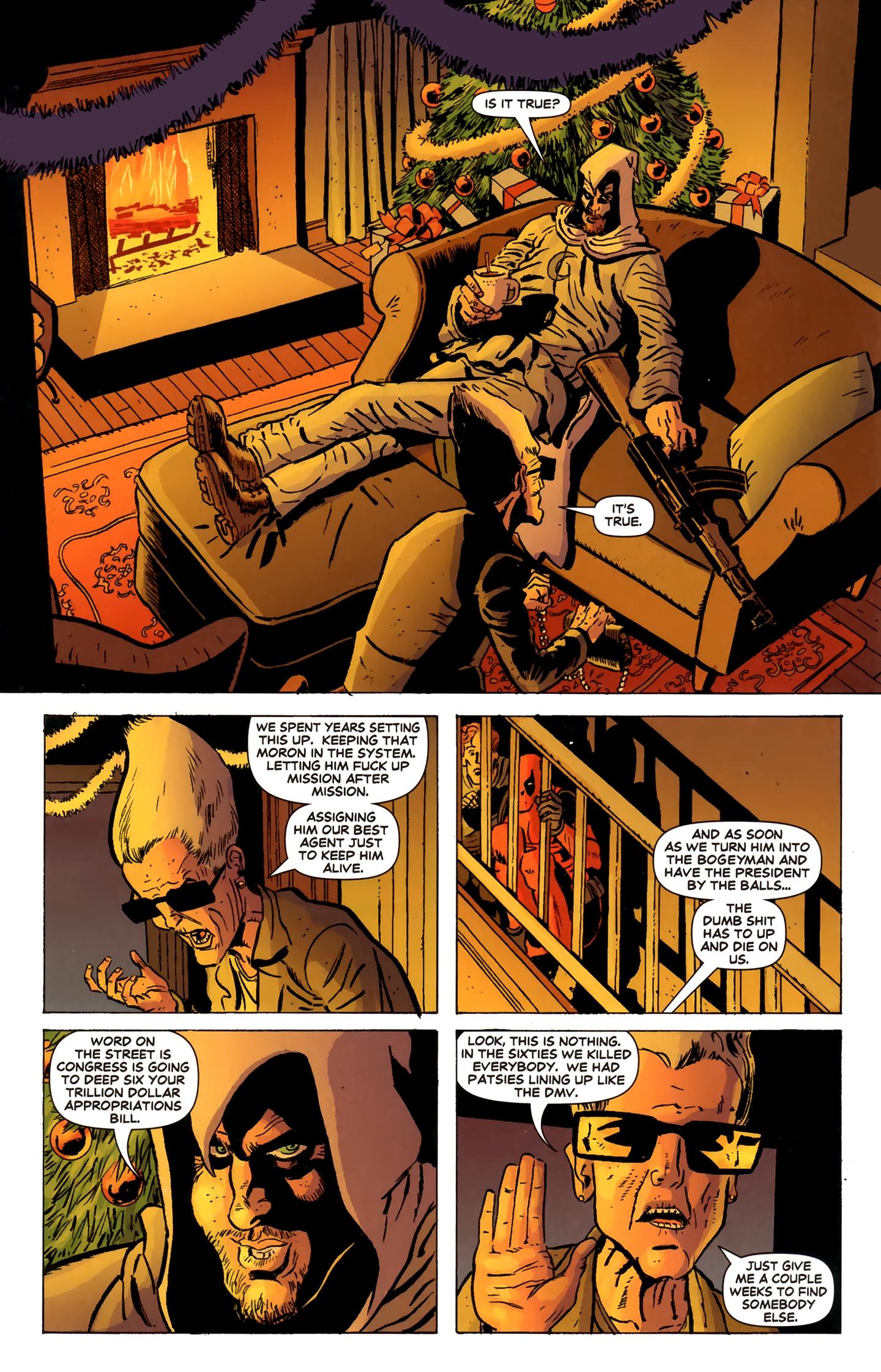 Read online Deadpool MAX X-Mas Special comic -  Issue # Full - 11