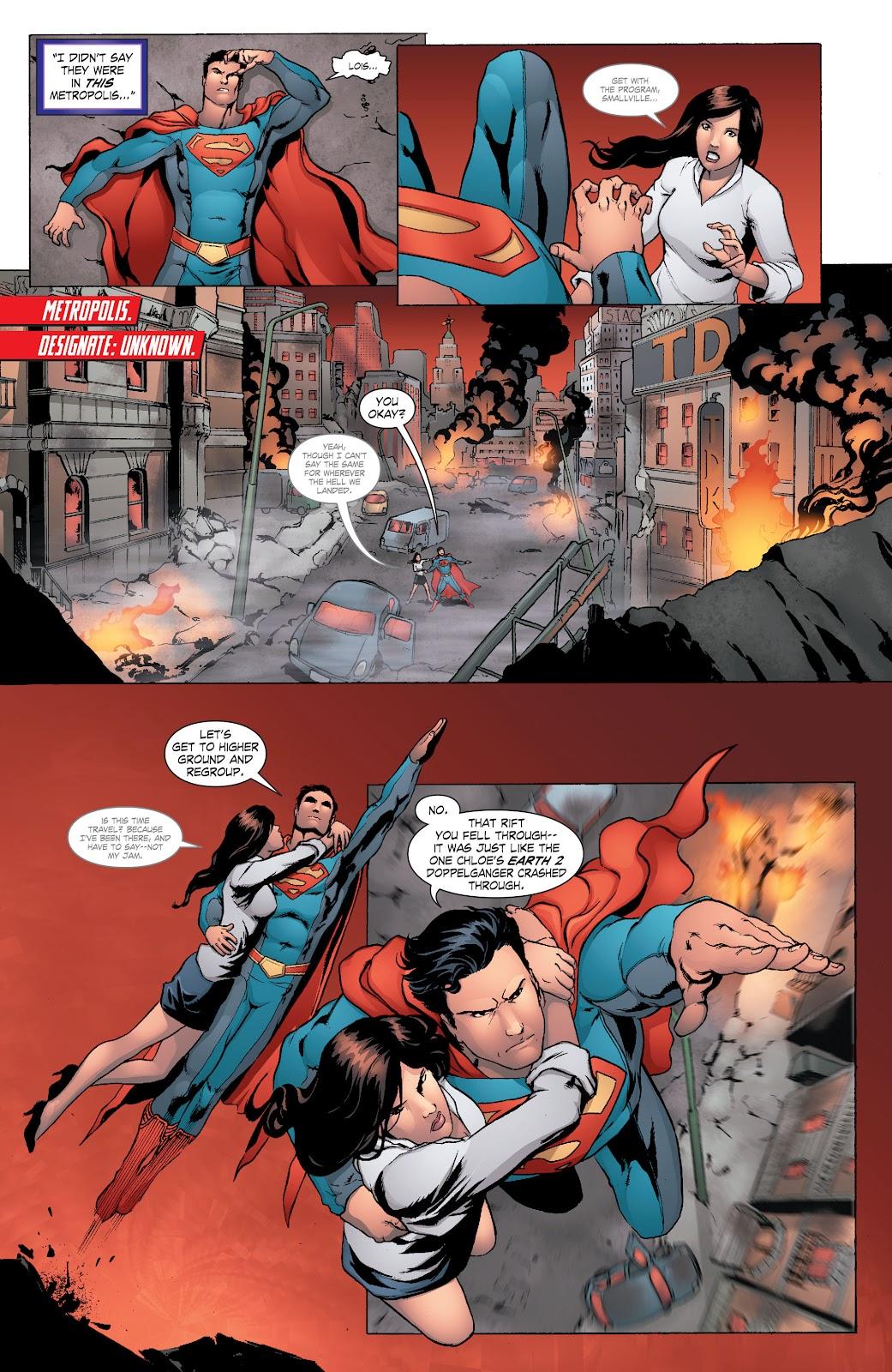 Read online Smallville Season 11 [II] comic -  Issue # TPB 8 - 67