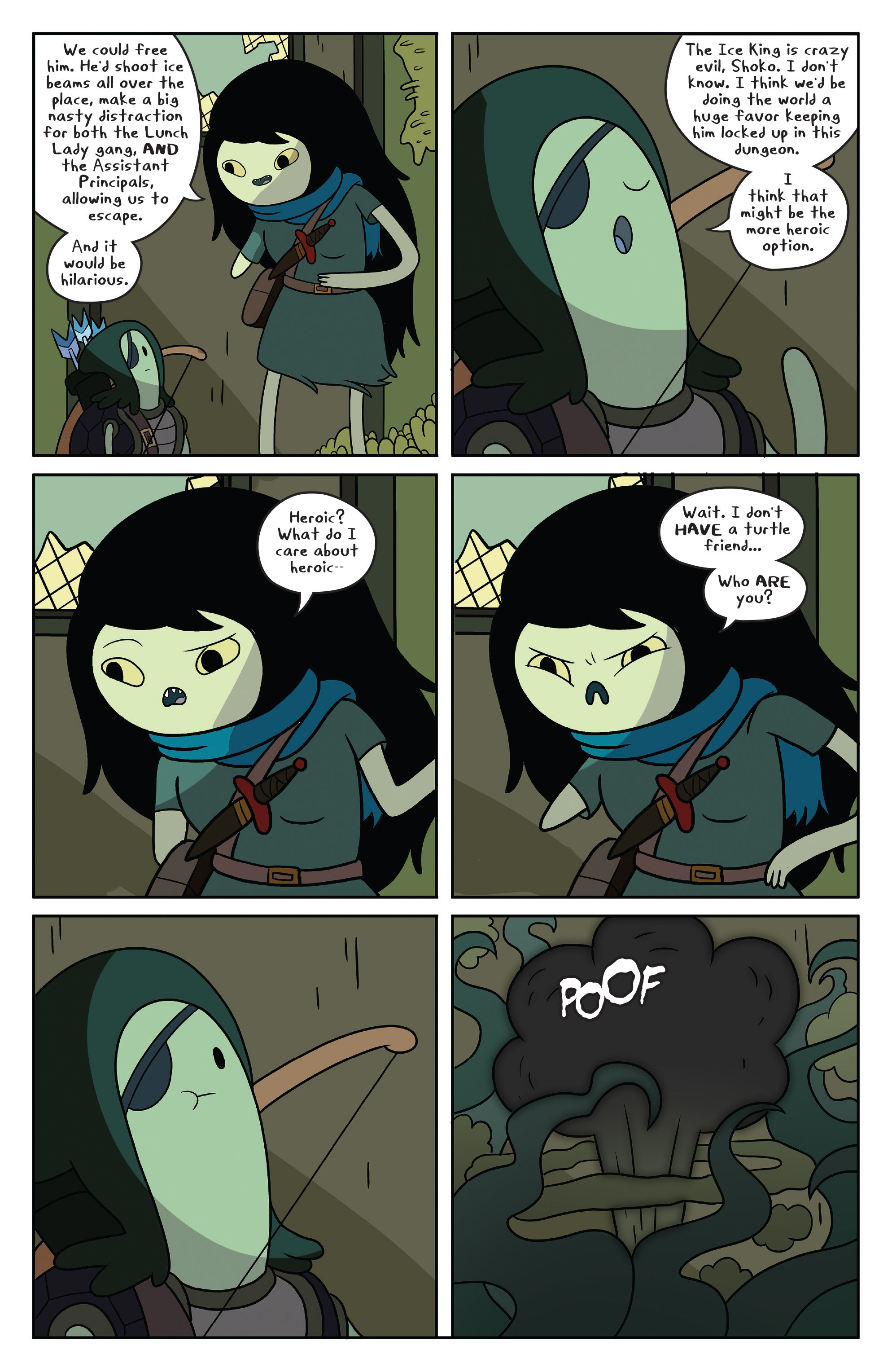 Read online Adventure Time comic -  Issue #50 - 17