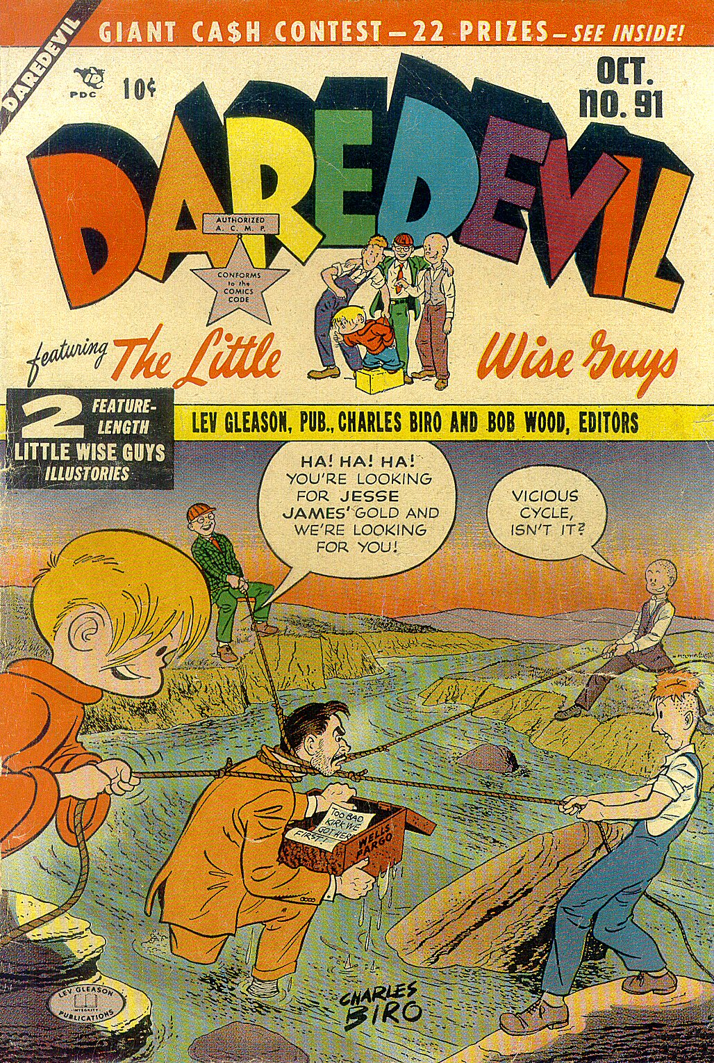 Daredevil (1941) 91 Page 1
