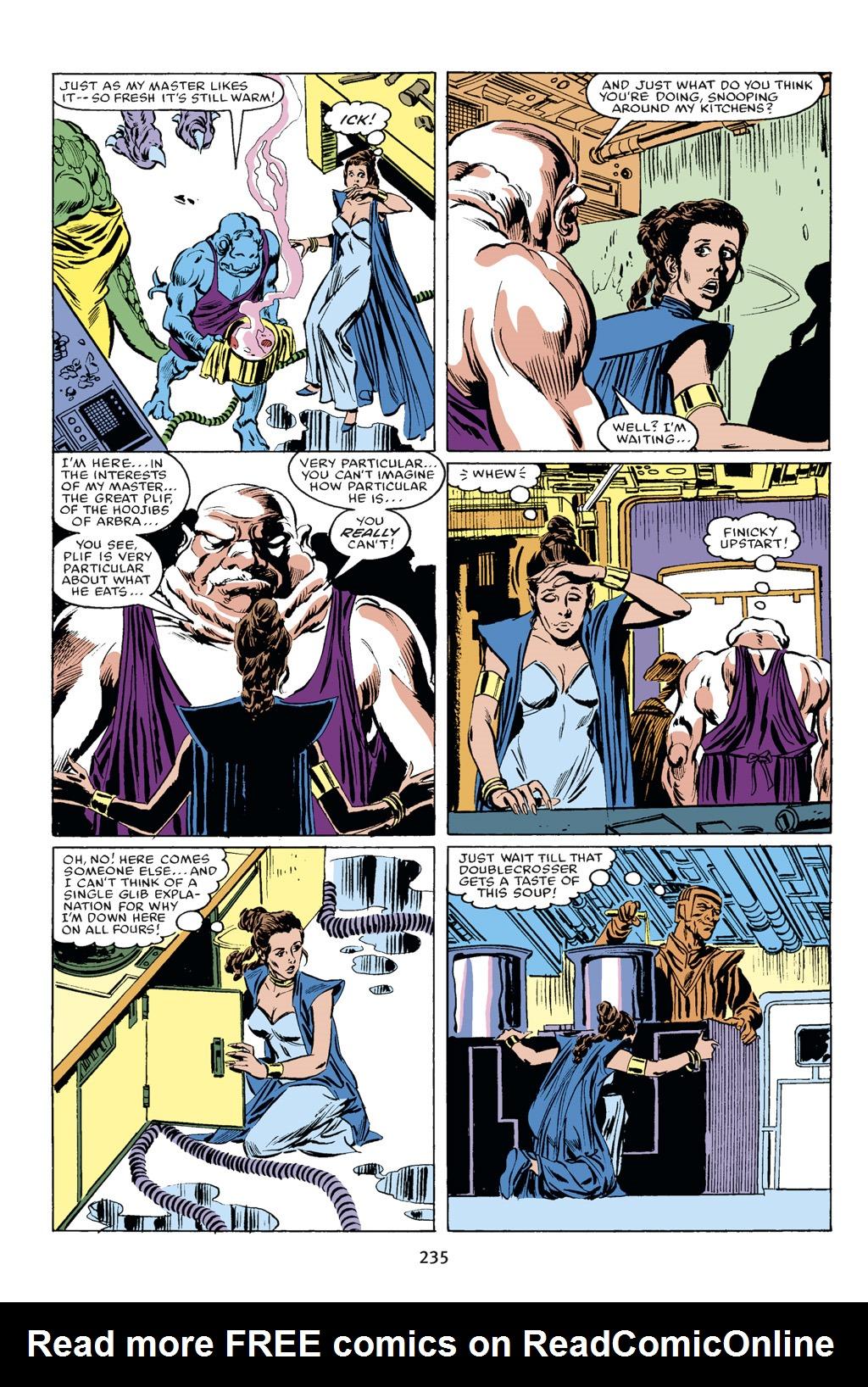 Read online Star Wars Omnibus comic -  Issue # Vol. 18 - 221