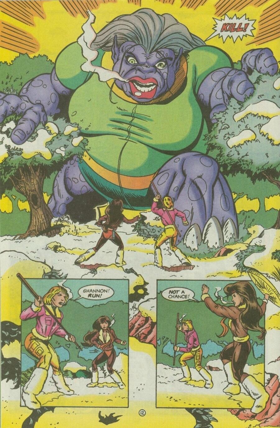 Read online Ex-Mutants comic -  Issue #10 - 15