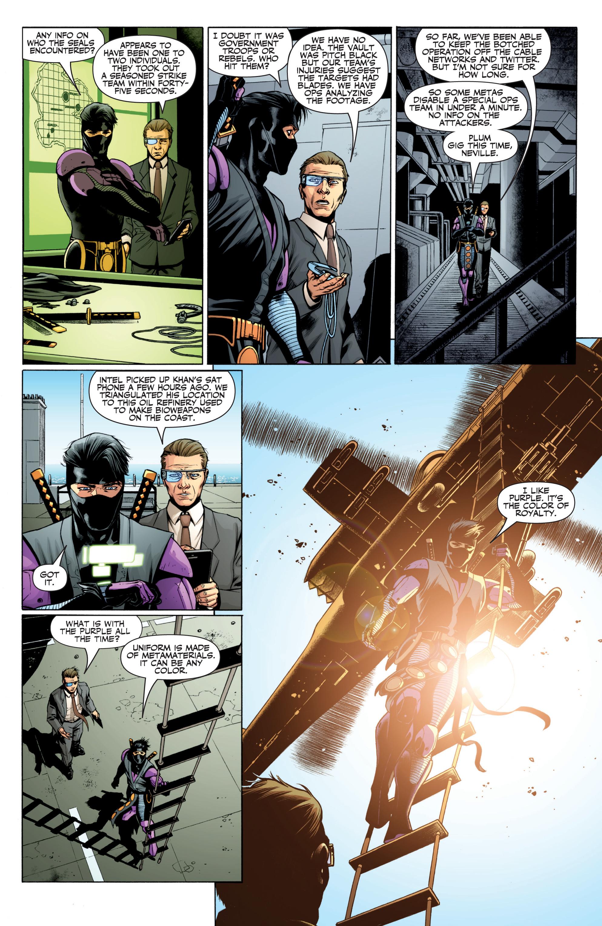 Read online Ninjak (2015) comic -  Issue #27 - 7