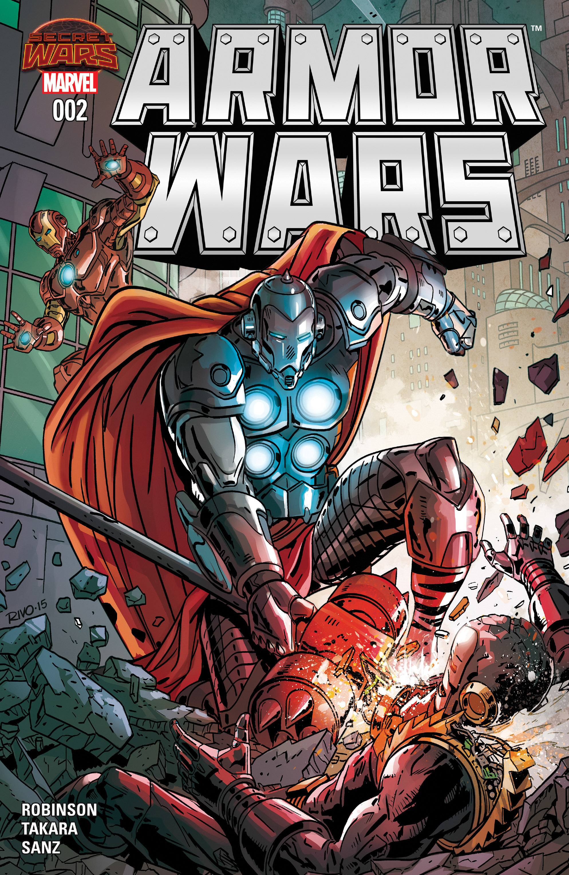 Read online Armor Wars comic -  Issue #2 - 1