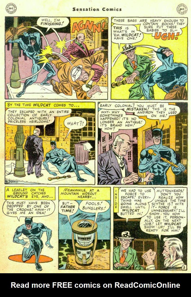Read online Sensation (Mystery) Comics comic -  Issue #74 - 45