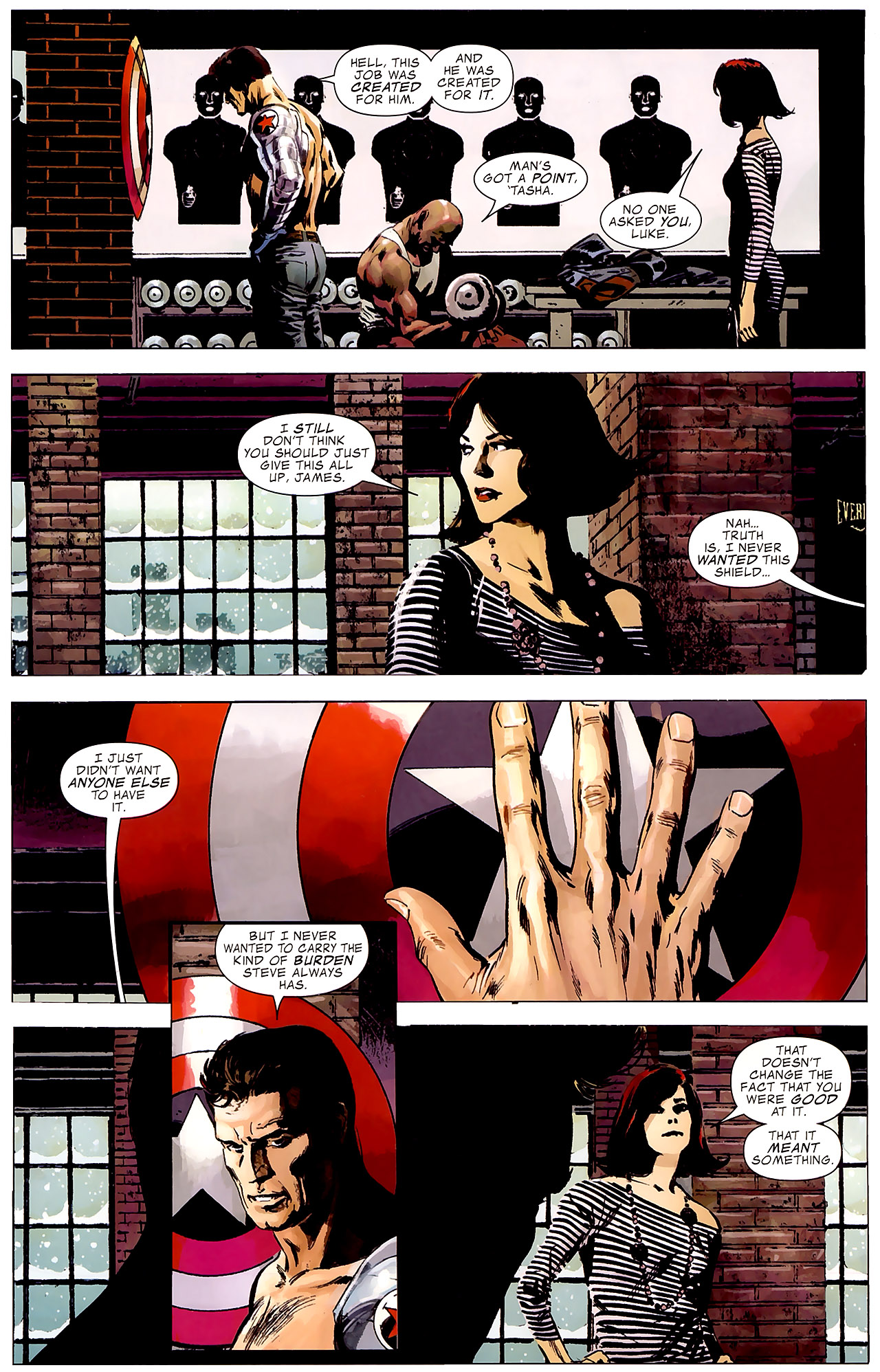 Read online Captain America Reborn: Who Will Wield the Shield? comic -  Issue # Full - 9