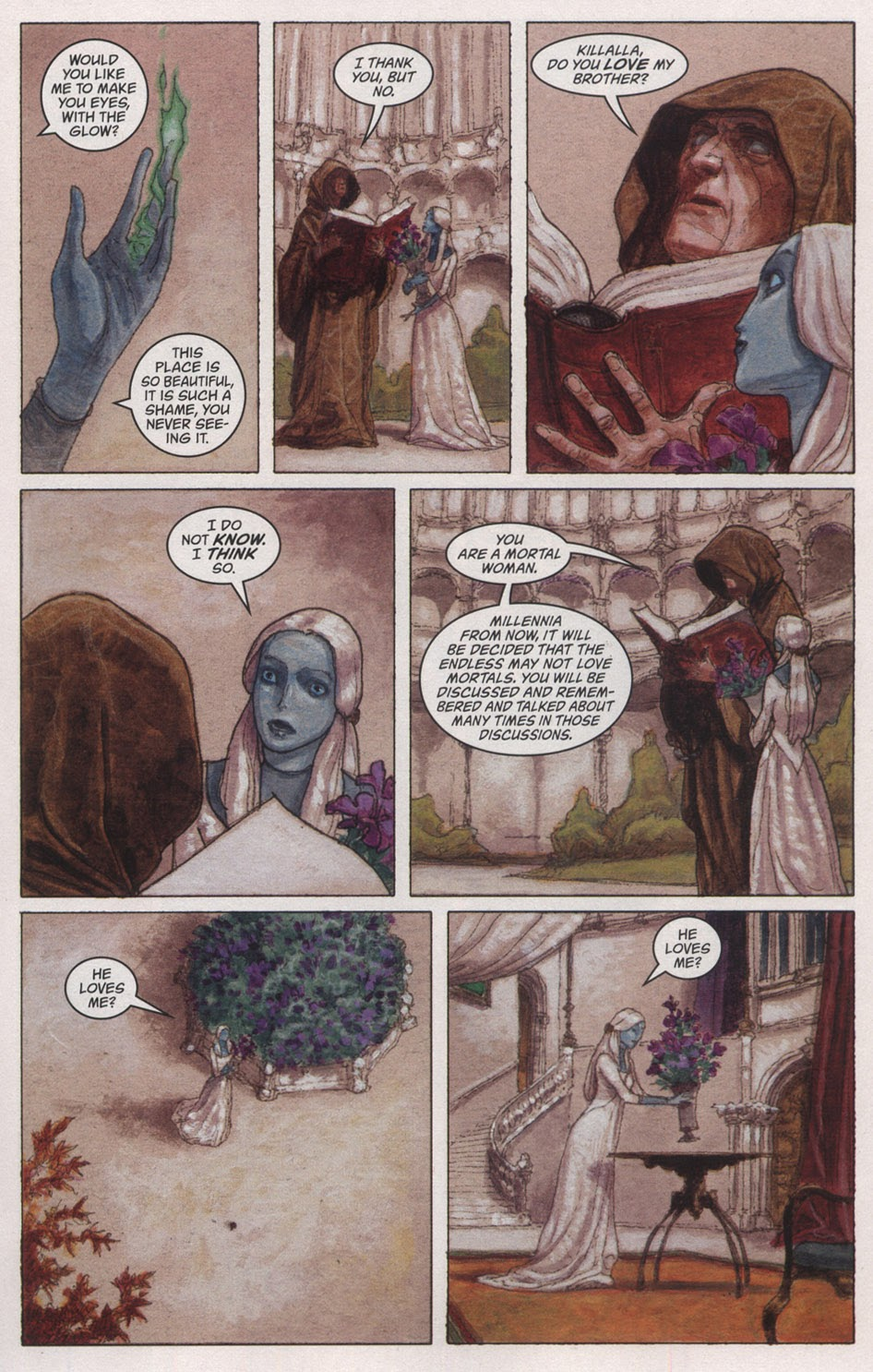 Read online The Sandman: Endless Nights comic -  Issue # _Special - 17