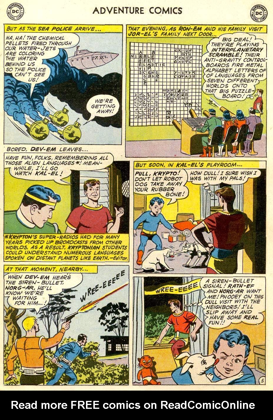Read online Adventure Comics (1938) comic -  Issue #287 - 7