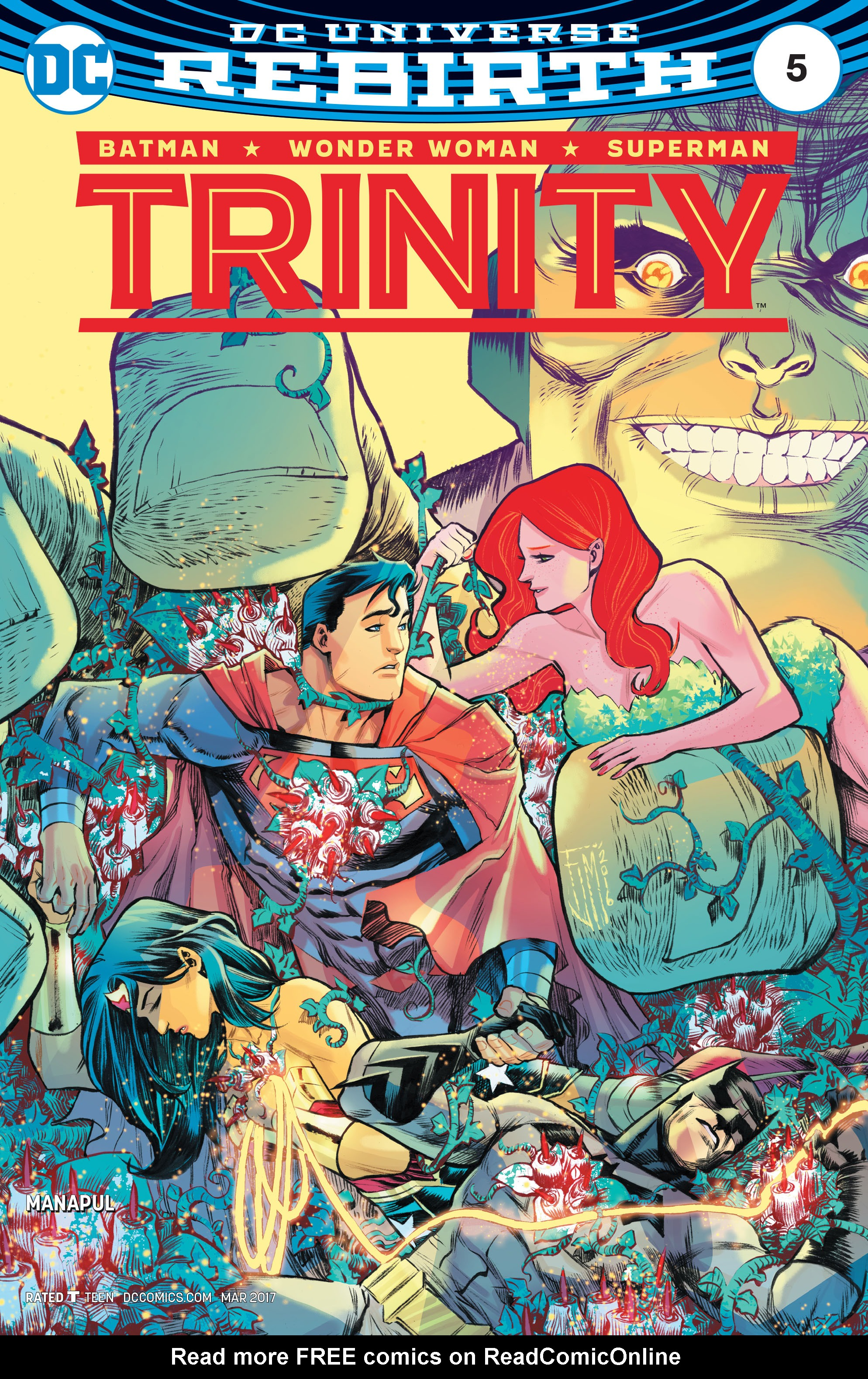 Read online Trinity (2016) comic -  Issue #5 - 1
