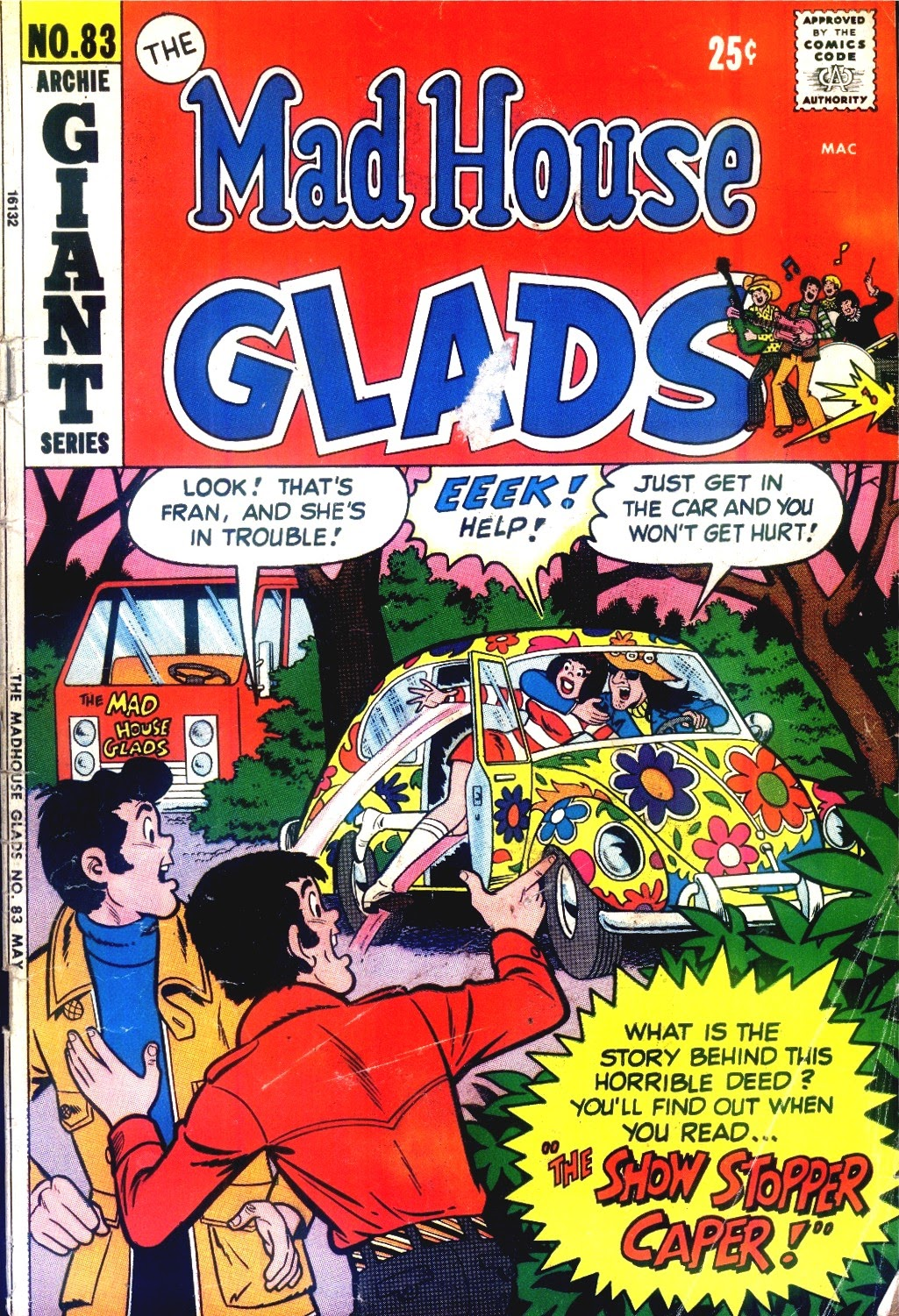 Read online The Mad House Glads comic -  Issue #83 - 1
