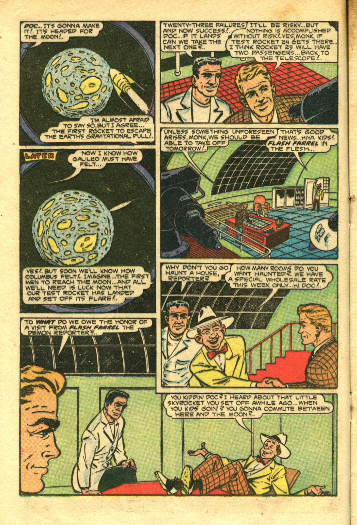 Read online Shadow Comics comic -  Issue #98 - 18