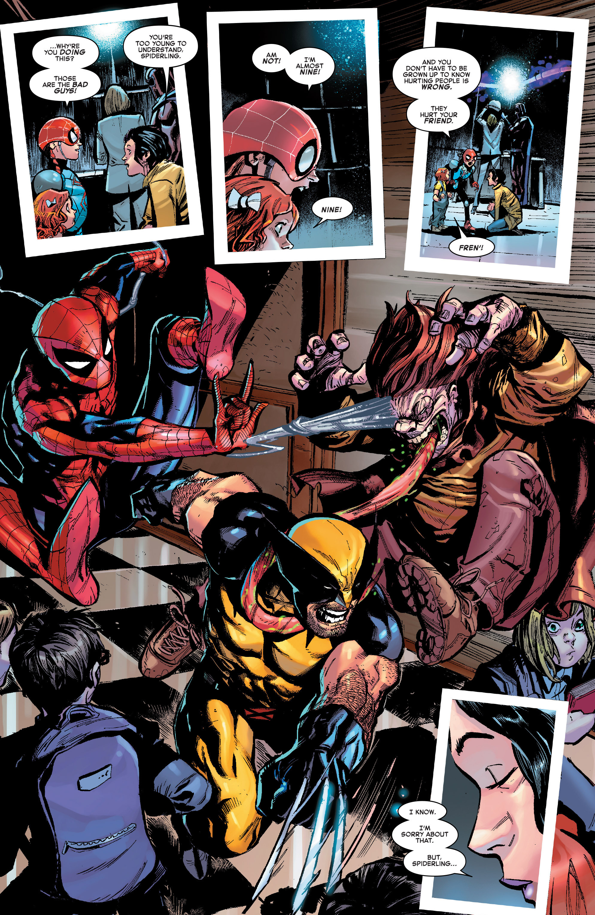 Read online Amazing Spider-Man: Renew Your Vows (2017) comic -  Issue #7 - 9