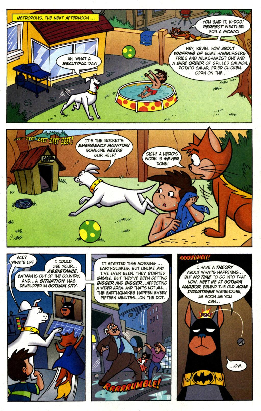 Read online Krypto the Superdog comic -  Issue #1 - 14