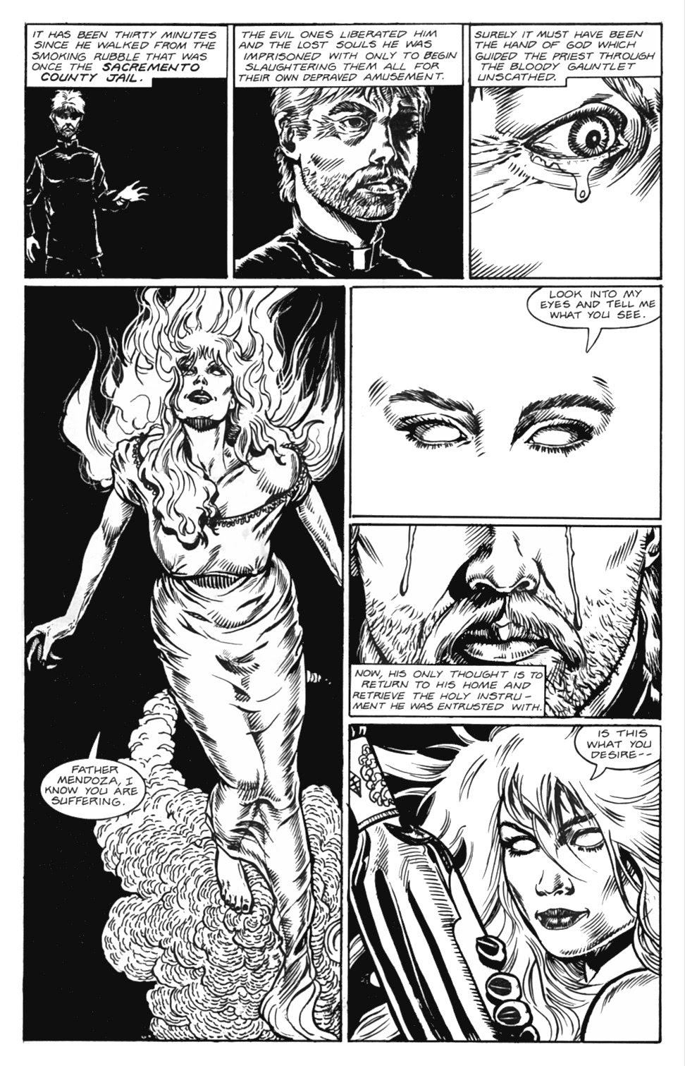 Read online Gunfighters in Hell comic -  Issue #5 - 5