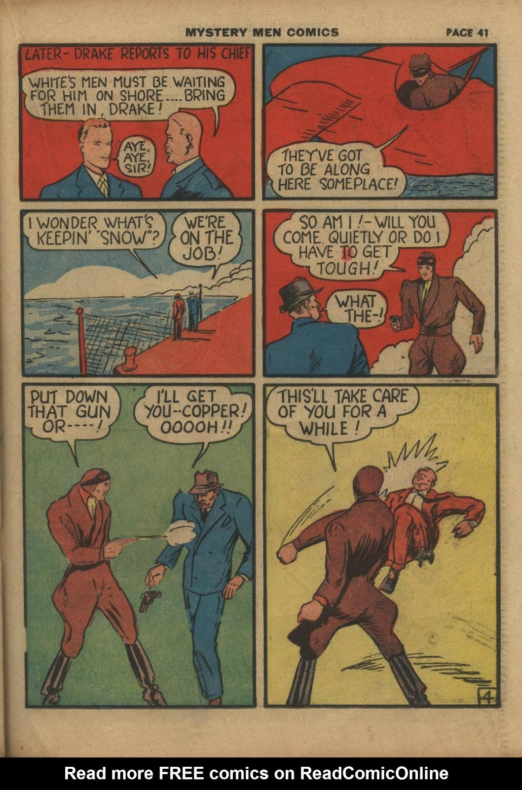 Mystery Men Comics issue 10 - Page 43