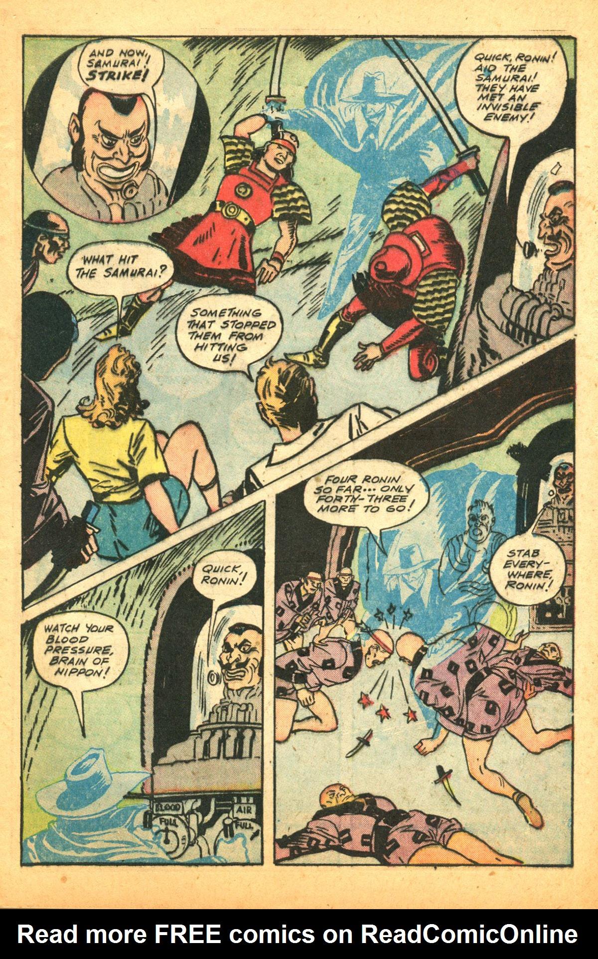Read online Shadow Comics comic -  Issue #38 - 15