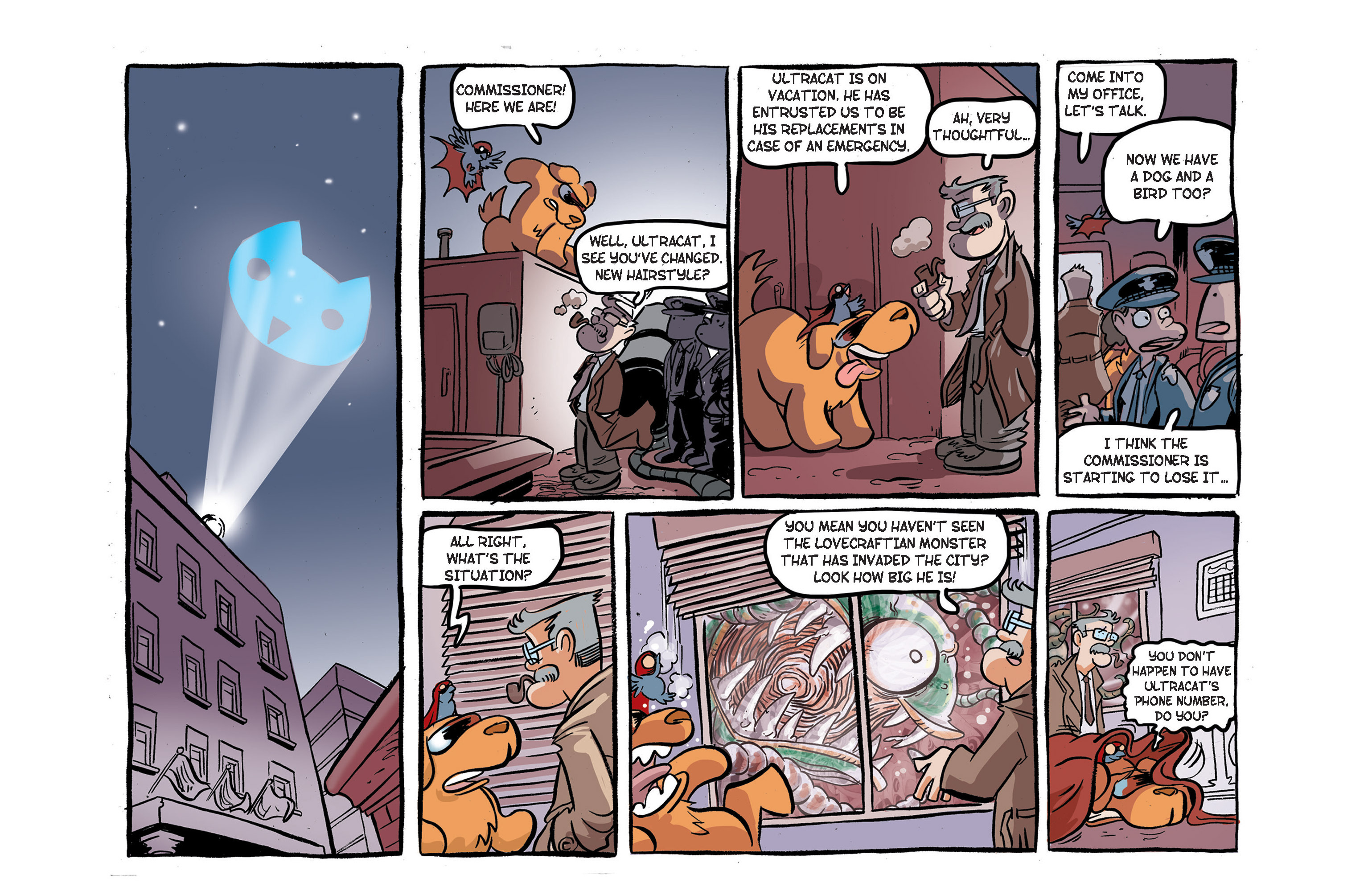 Read online Ultracat comic -  Issue #4 - 19