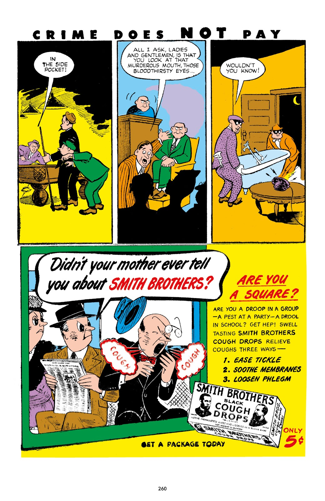 Read online Crime Does Not Pay Archives comic -  Issue # TPB 7 (Part 3) - 61