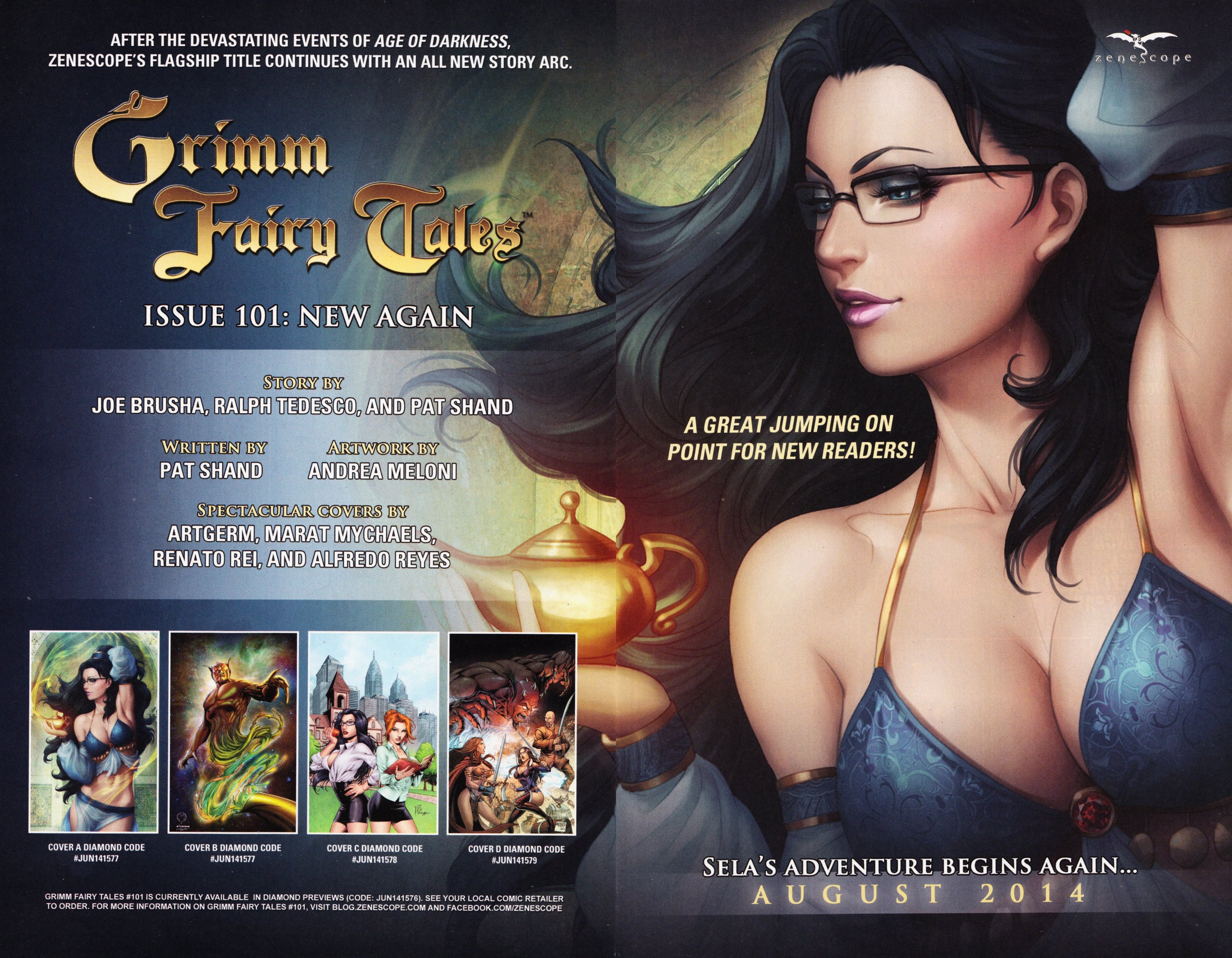 Read online Grimm Fairy Tales vs. Wonderland comic -  Issue #2 - 27