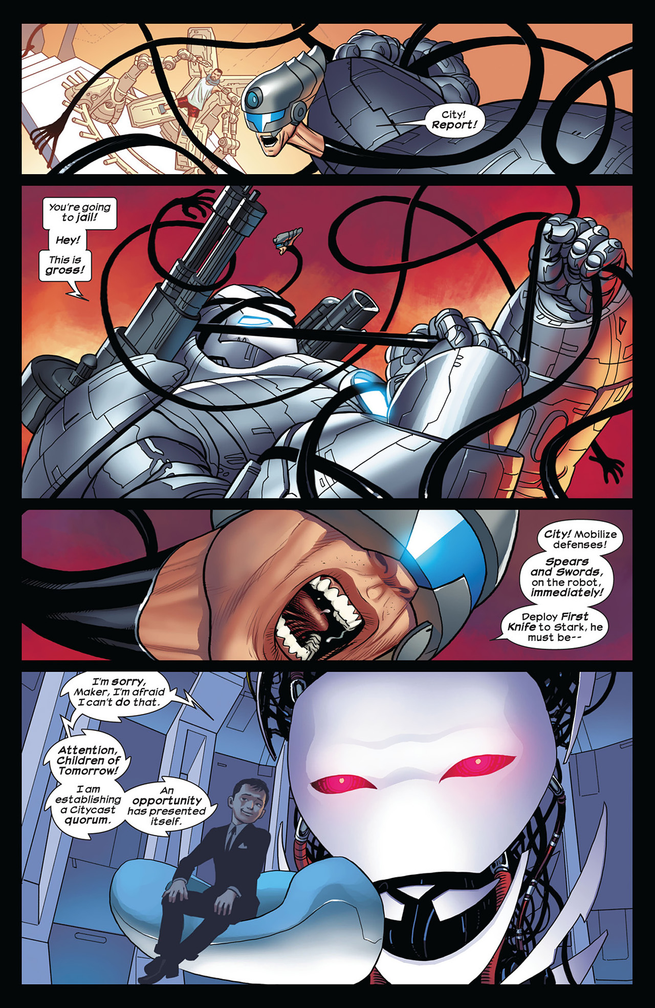 Read online Ultimate Comics Ultimates comic -  Issue #12 - 9