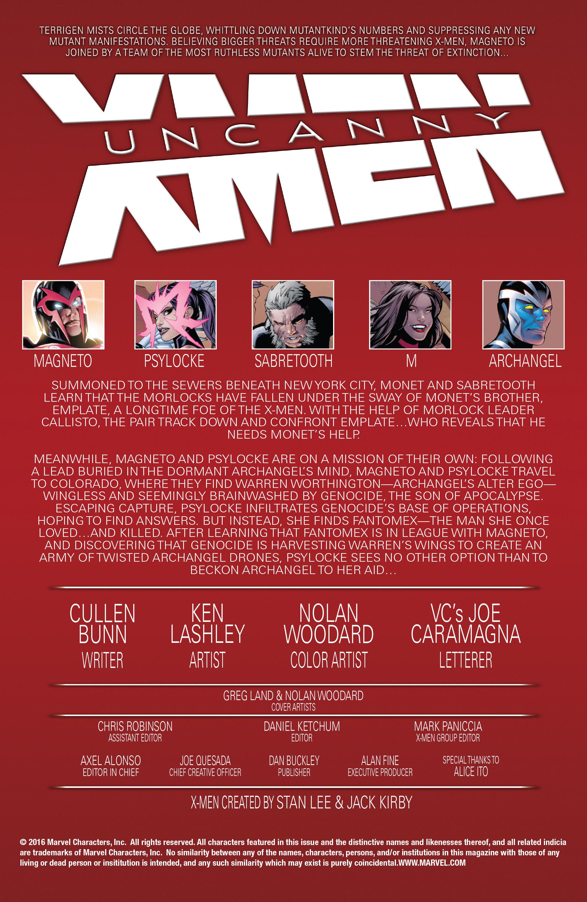 Read online Uncanny X-Men (2016) comic -  Issue #9 - 2