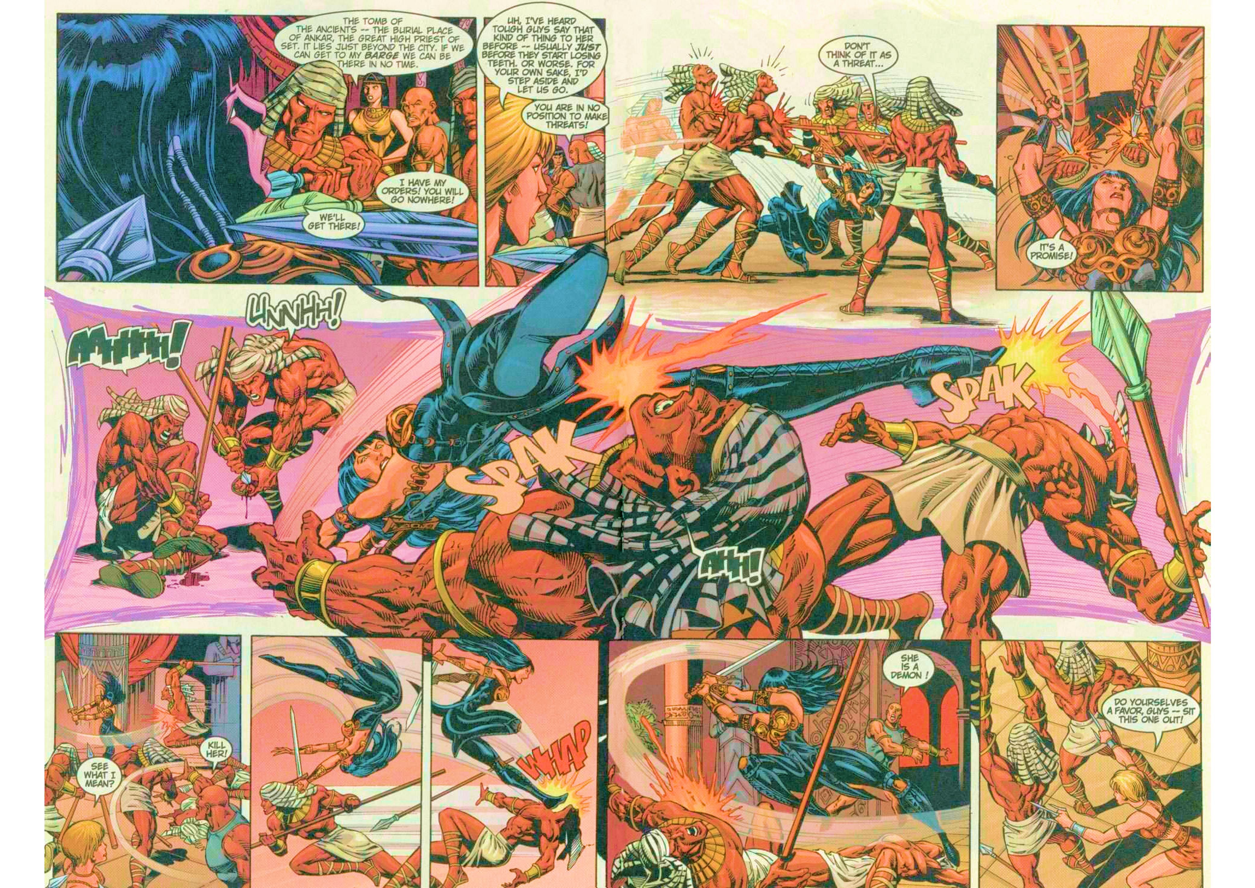 Read online Xena: Warrior Princess (1999) comic -  Issue #6 - 5