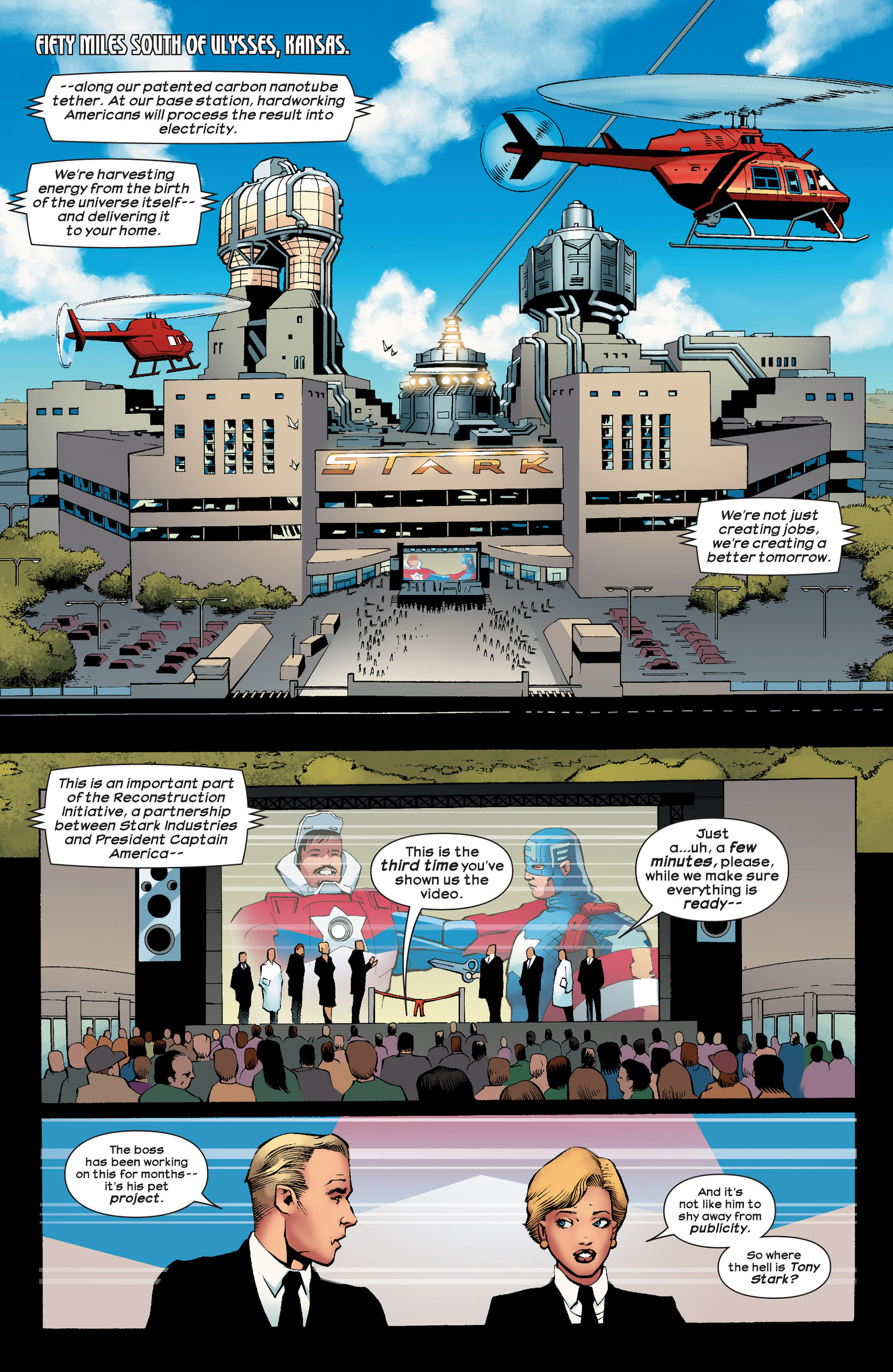 Read online Ultimate Comics Ultimates comic -  Issue #23 - 4