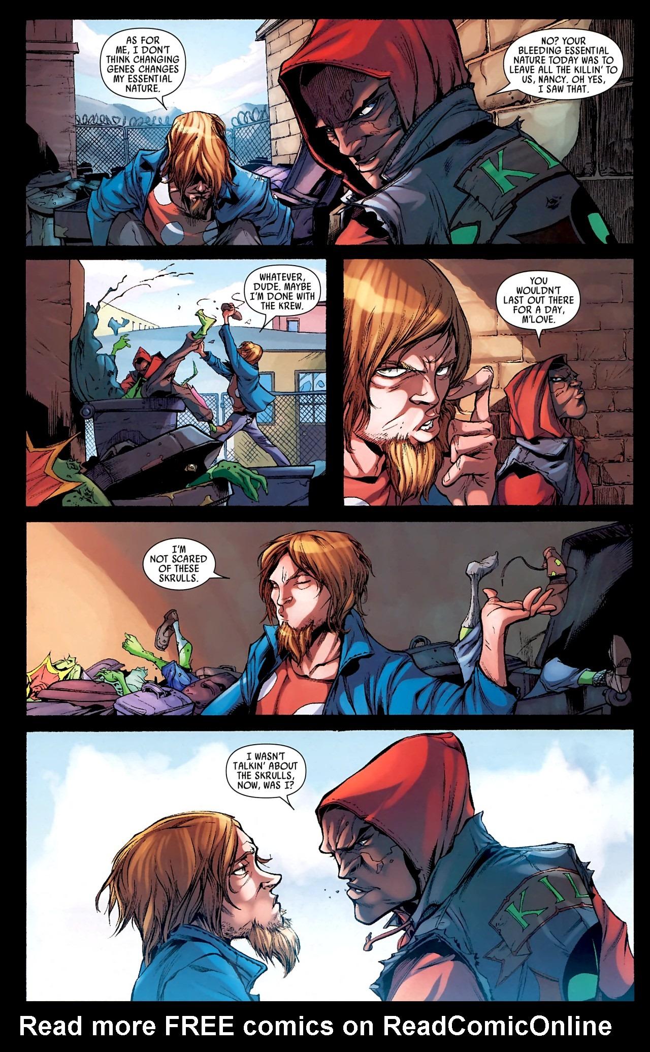Read online Skrull Kill Krew (2009) comic -  Issue #4 - 10