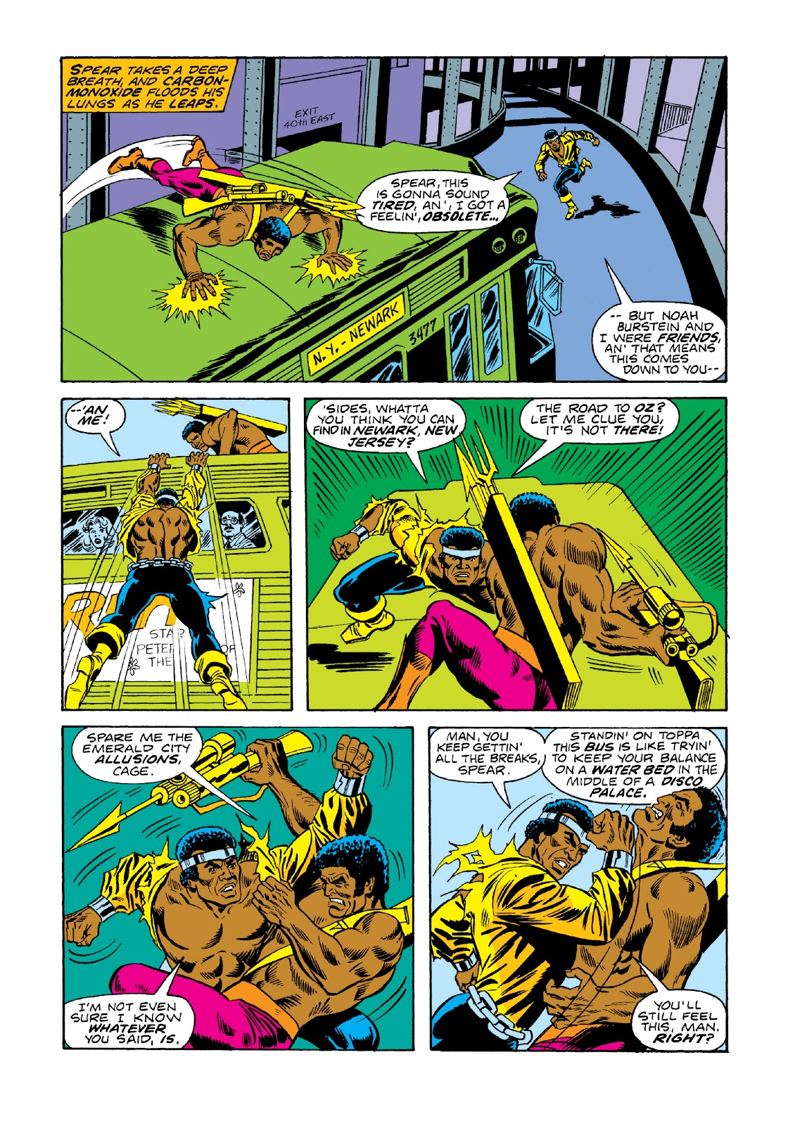 Read online Marvel Masterworks: Luke Cage, Power Man comic -  Issue # TPB 3 (Part 1) - 78