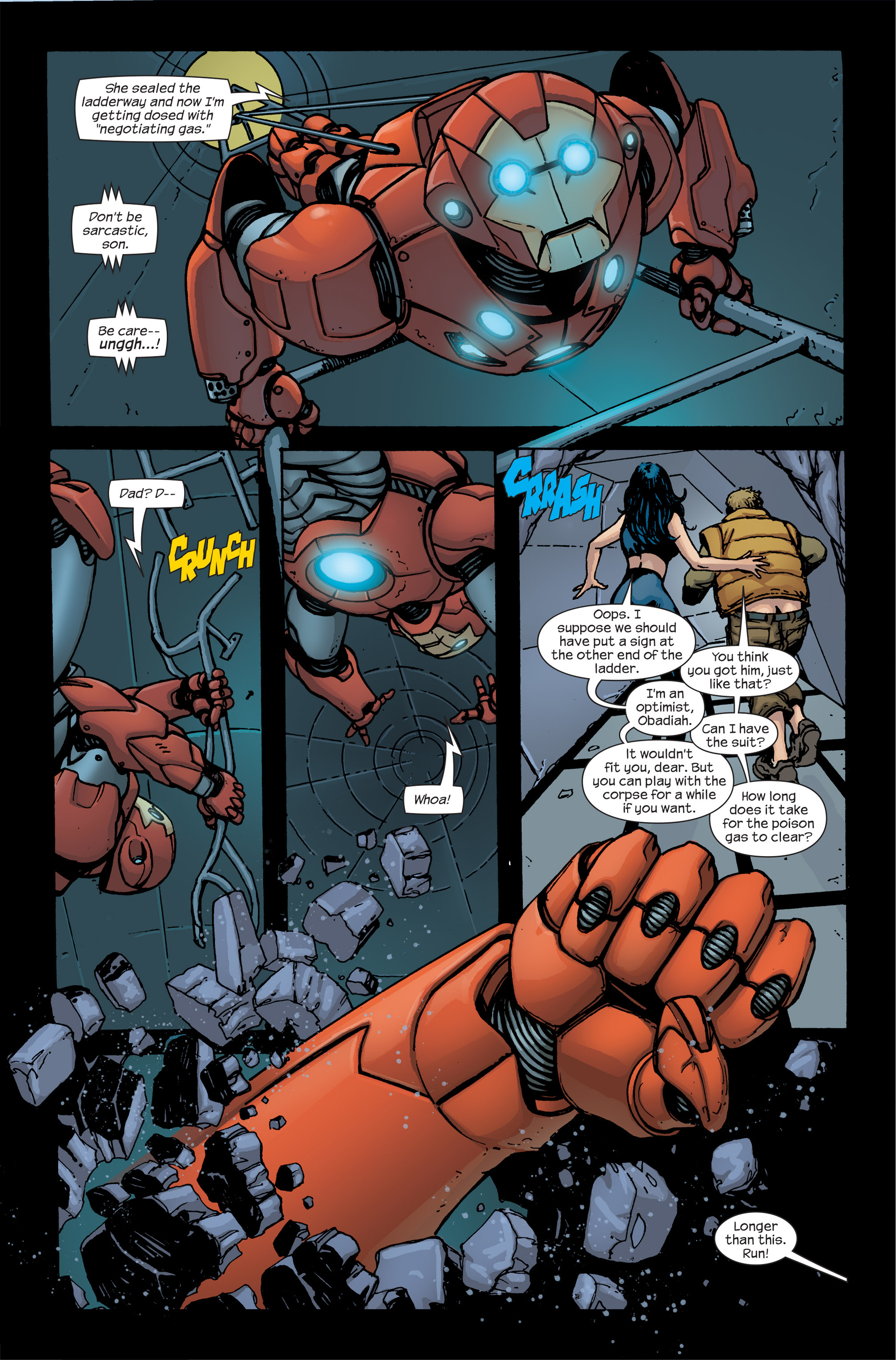Read online Ultimate Iron Man II comic -  Issue #5 - 15