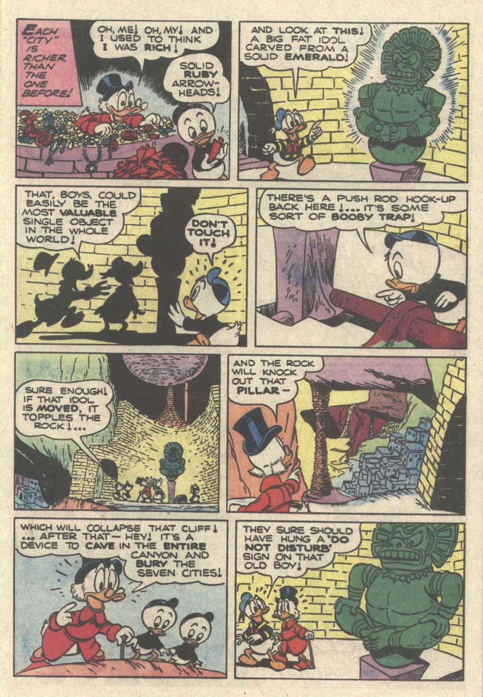 Read online Uncle Scrooge (1953) comic -  Issue #217 - 29