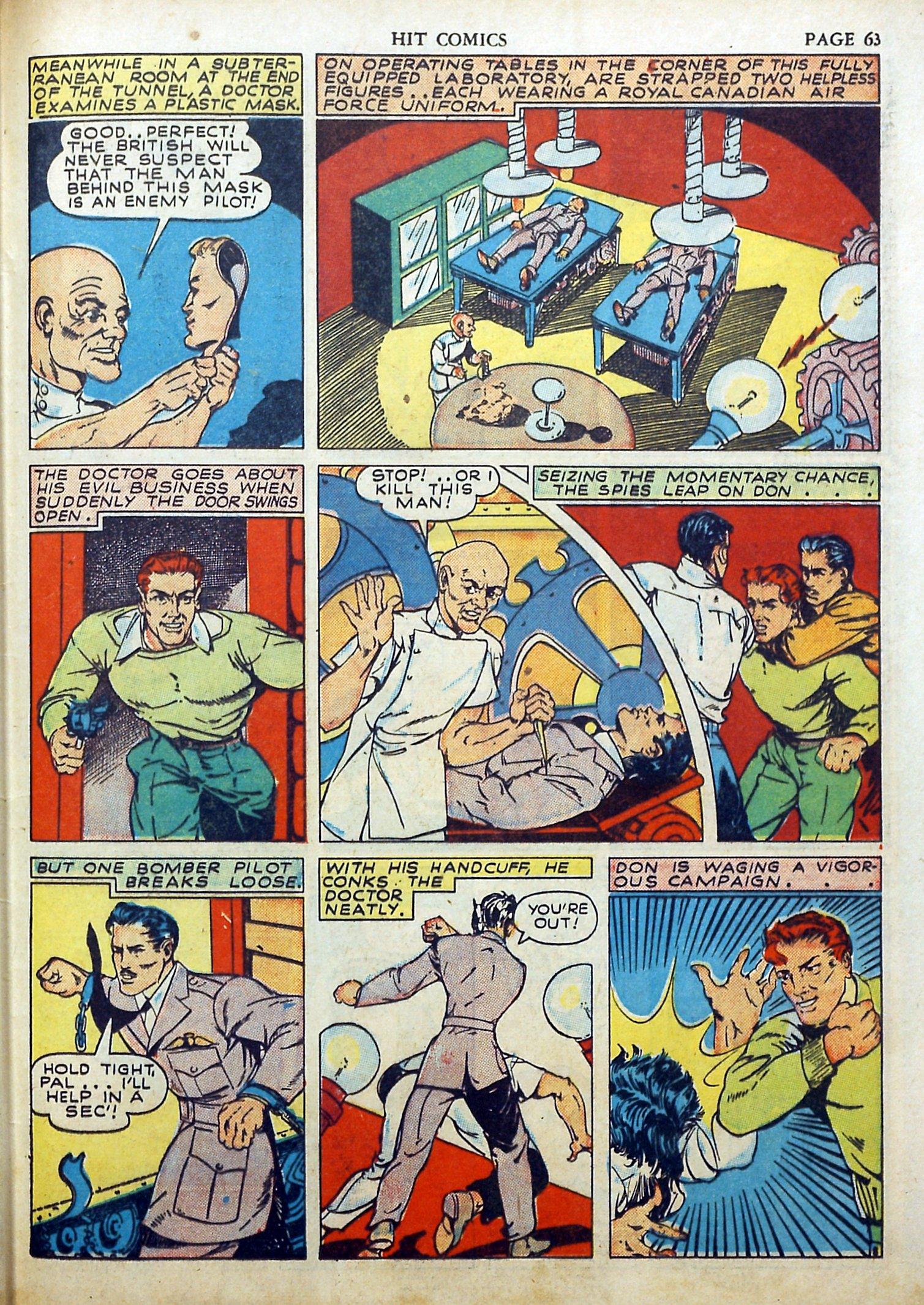 Read online Hit Comics comic -  Issue #17 - 65