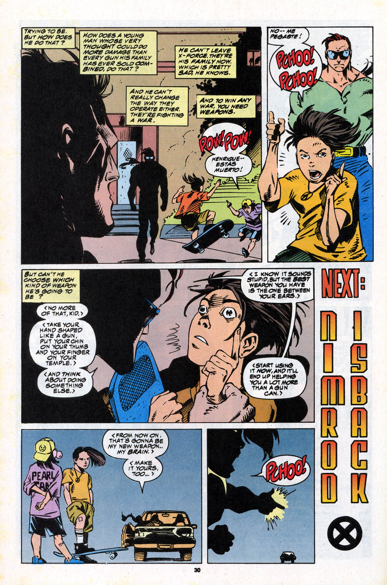 Read online X-Force (1991) comic -  Issue #34 - 30