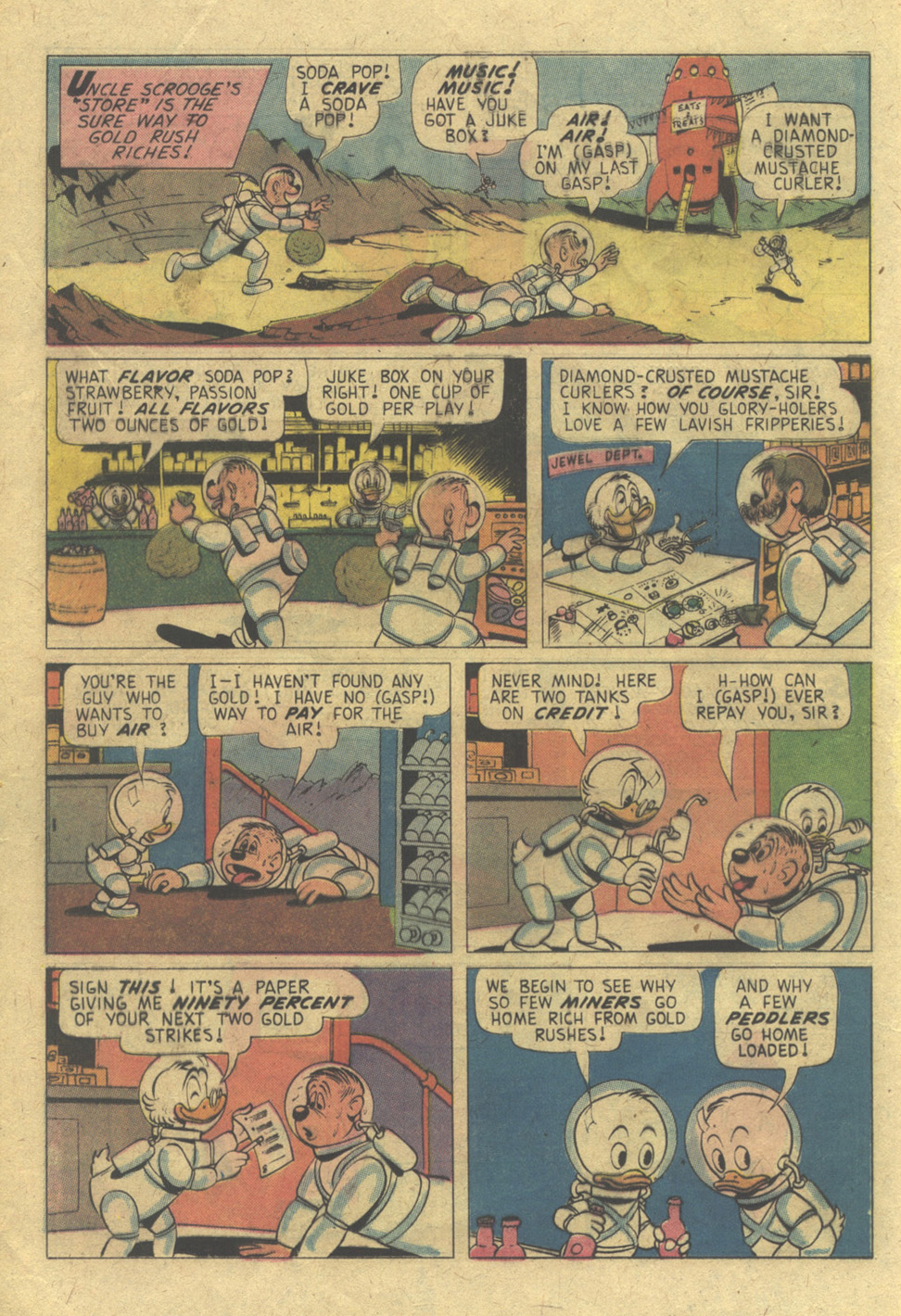 Read online Uncle Scrooge (1953) comic -  Issue #117 - 12