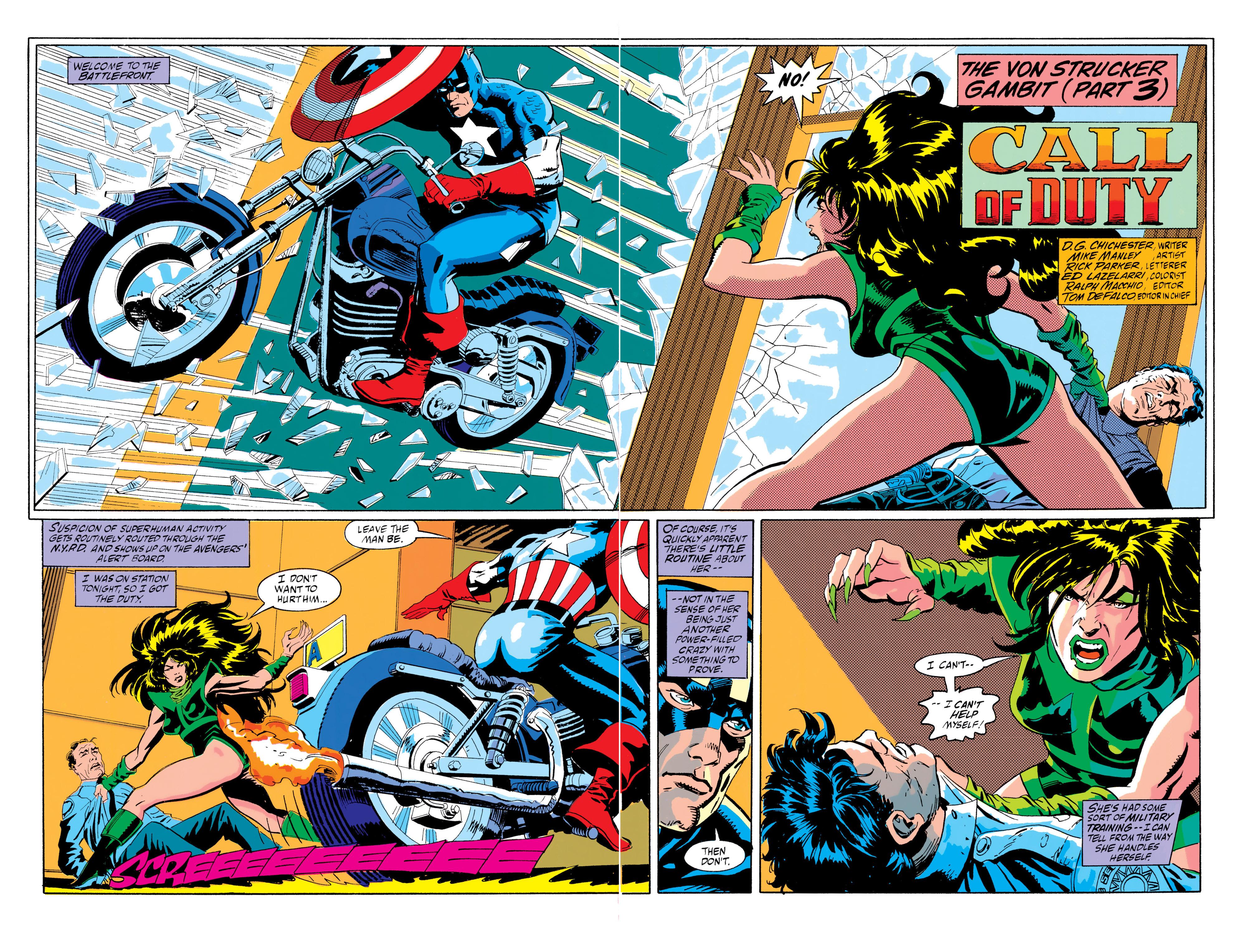 Read online Captain America (1968) comic -  Issue # _Annual 10 - 7