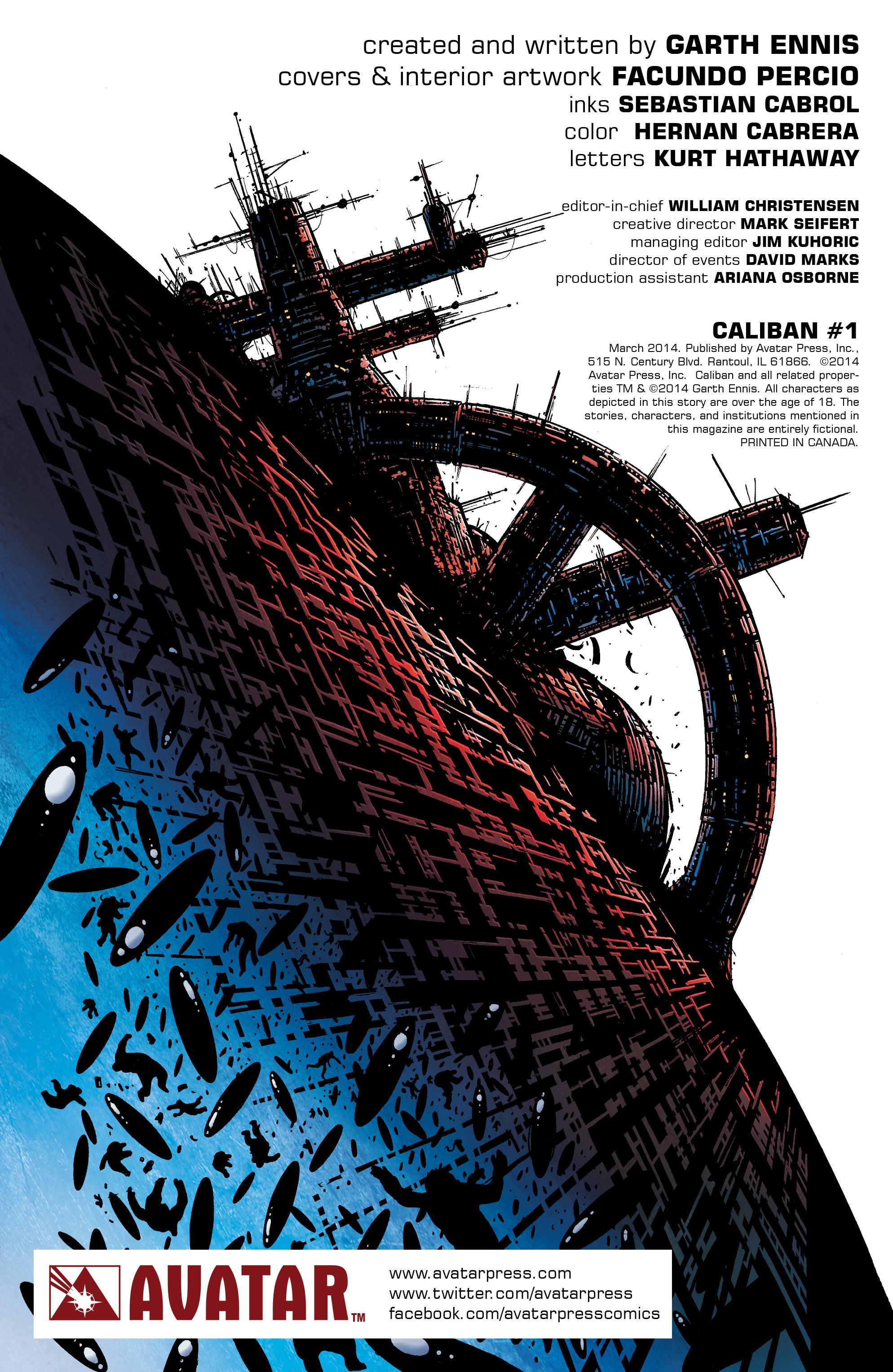 Read online Caliban comic -  Issue #1 - 6