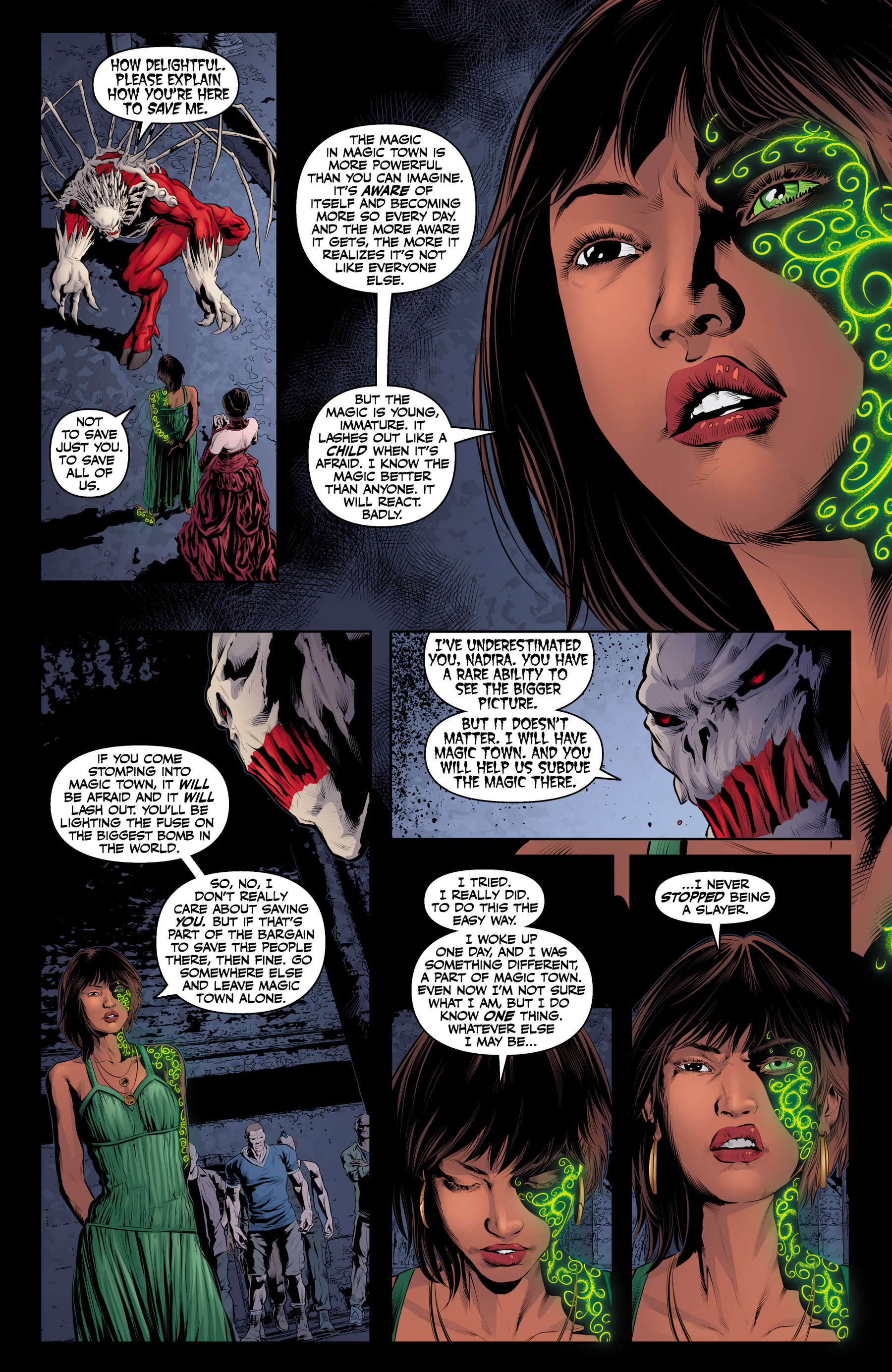 Read online Angel & Faith Season 10 comic -  Issue #20 - 17