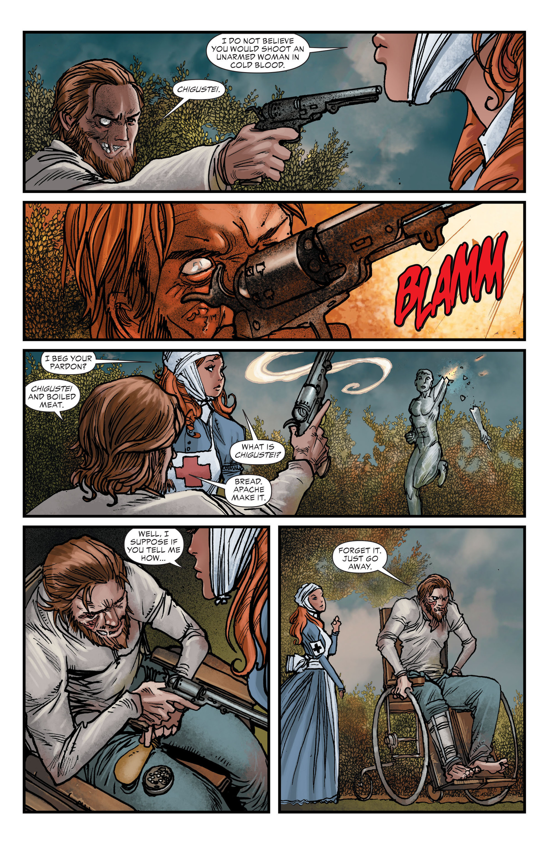Read online All-Star Western (2011) comic -  Issue #16 - 6