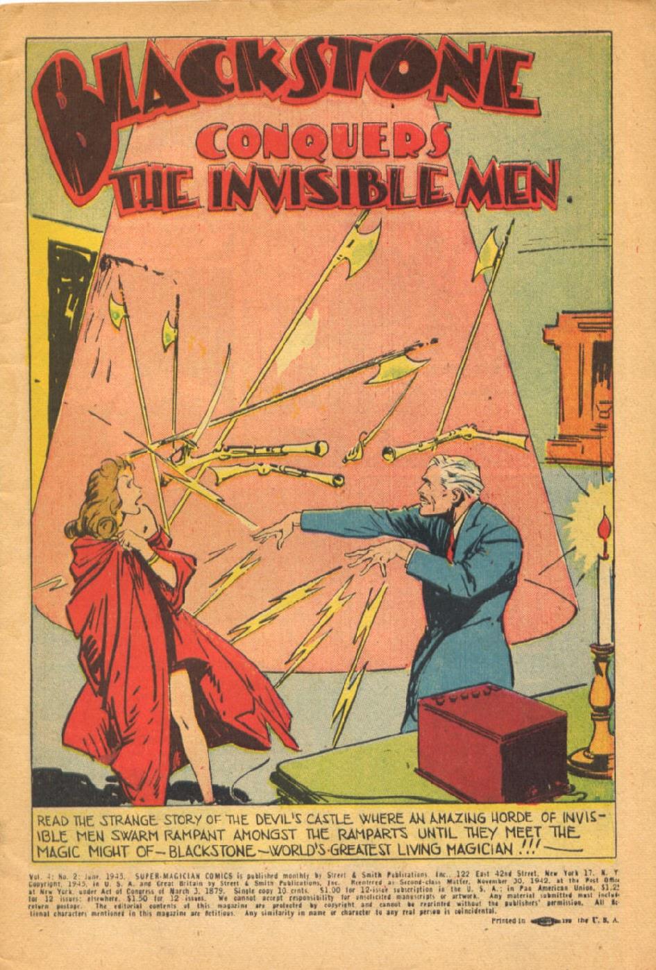 Read online Super-Magician Comics comic -  Issue #38 - 3