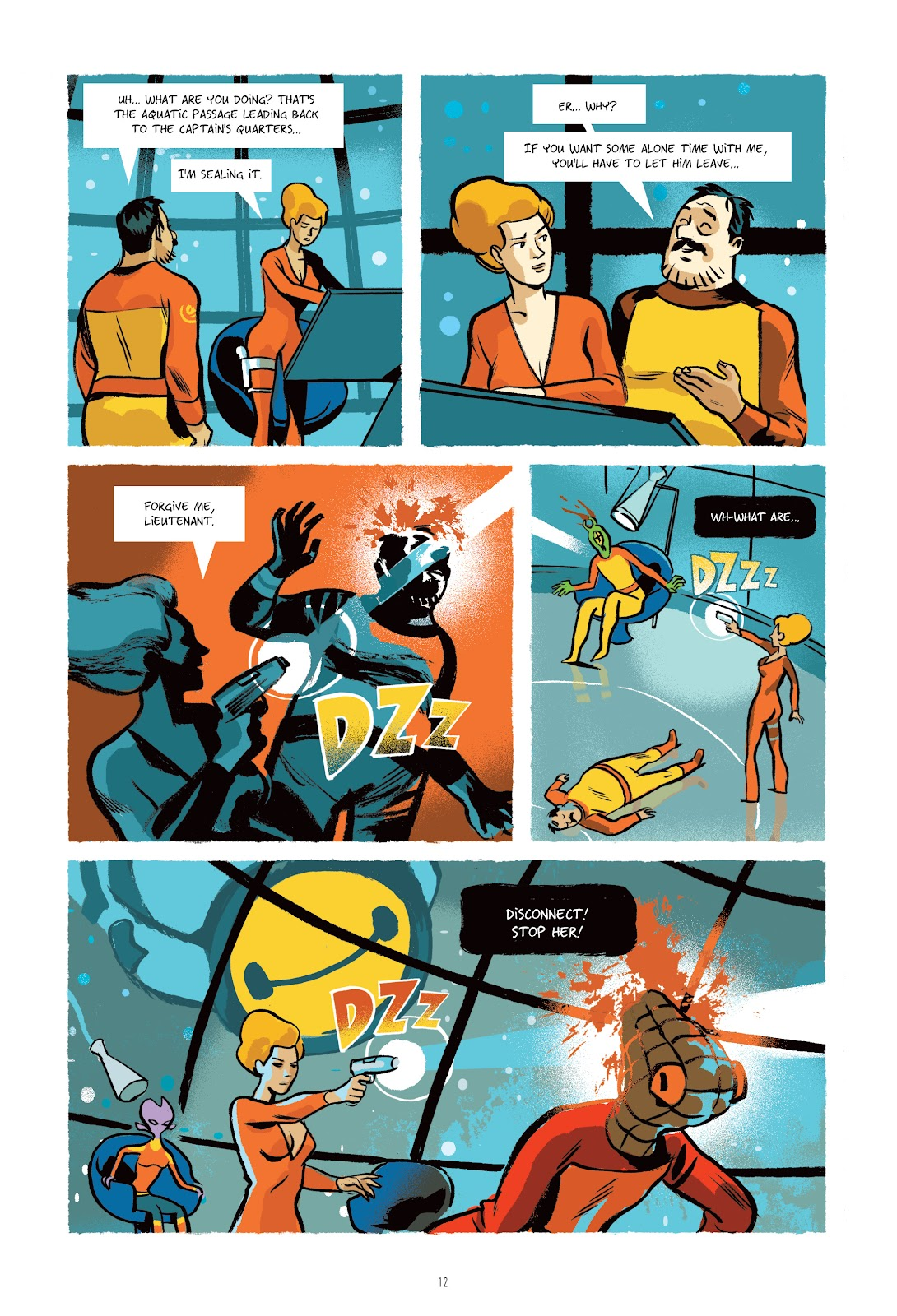 Read online Infinity 8 comic -  Issue # _TPB 3 - 13