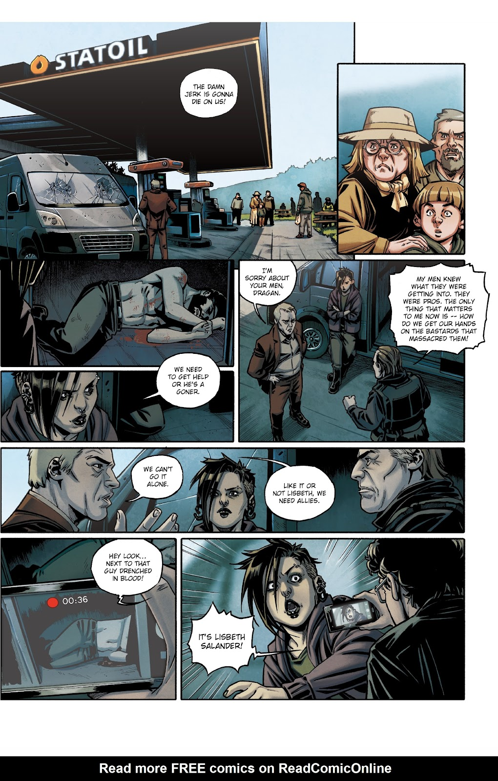 Read online Millennium: The Girl Who Danced With Death comic -  Issue #3 - 32