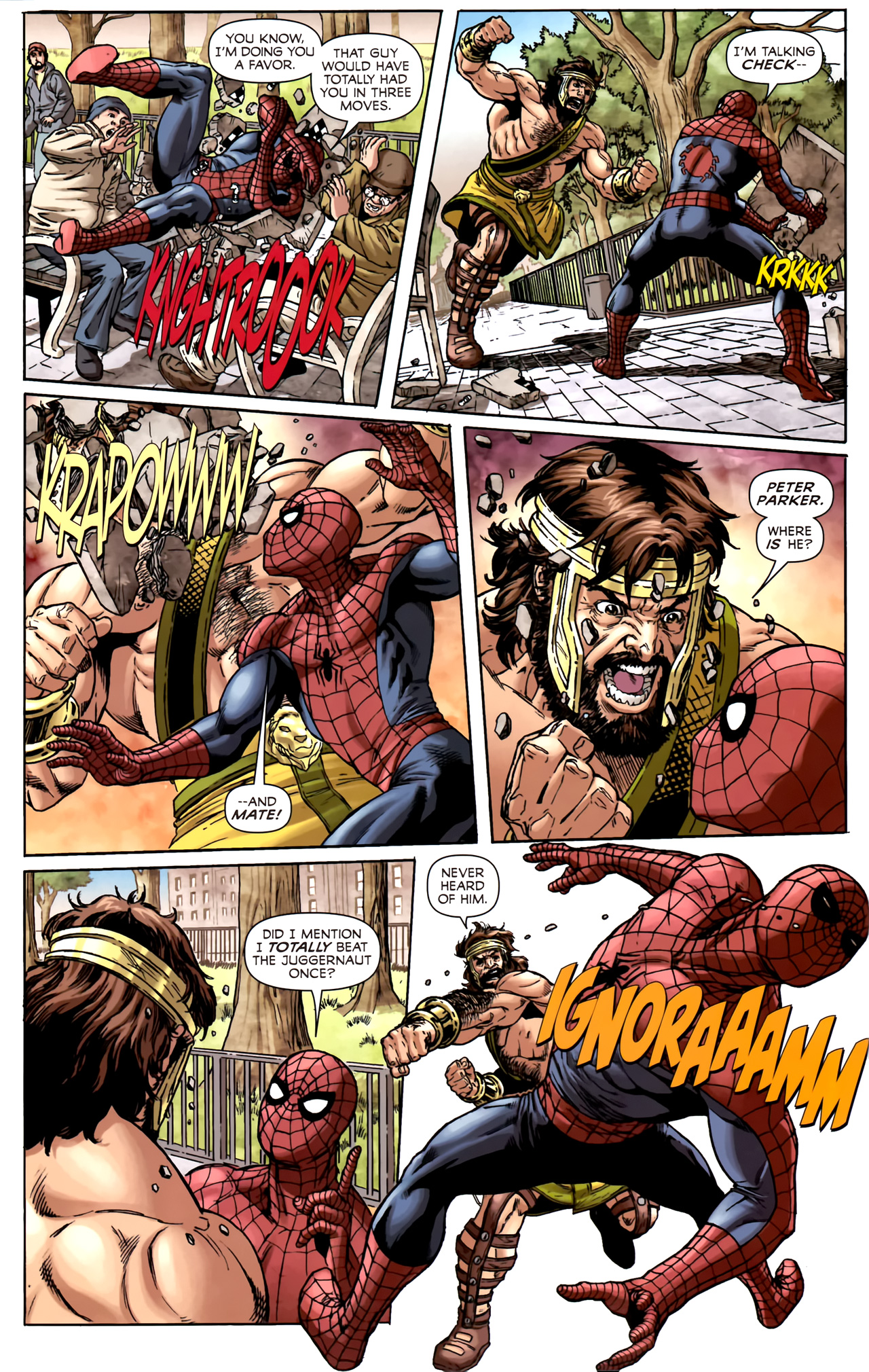 Read online Assault on New Olympus Prologue comic -  Issue #Assault on New Olympus Prologue Full - 19