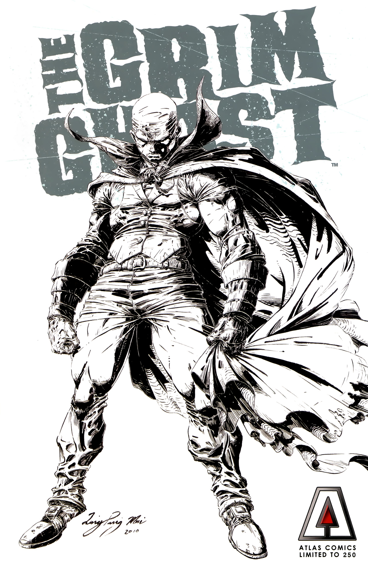 Read online The Grim Ghost comic -  Issue #0 - 2