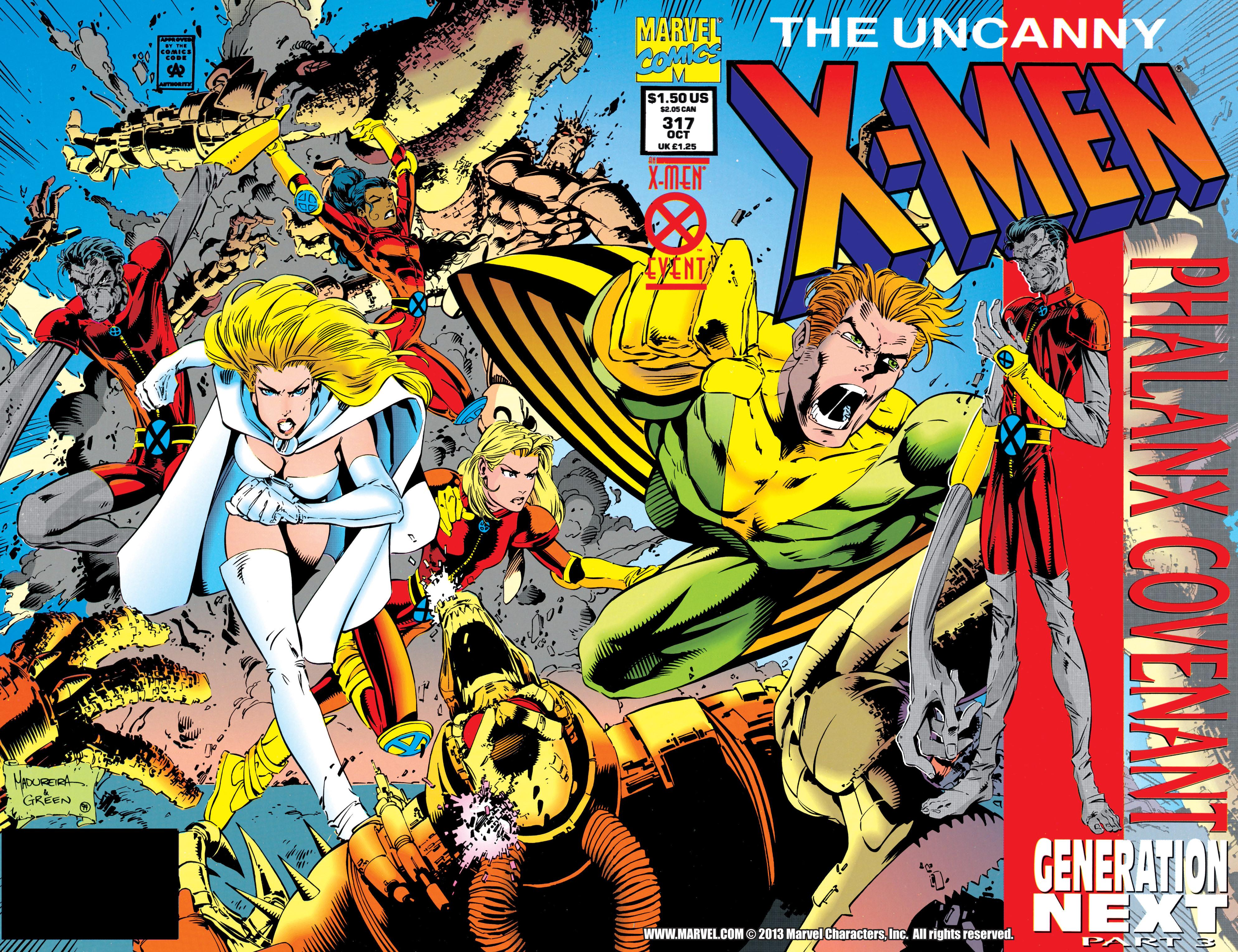 Uncanny X-Men (1963) 317 Page 2