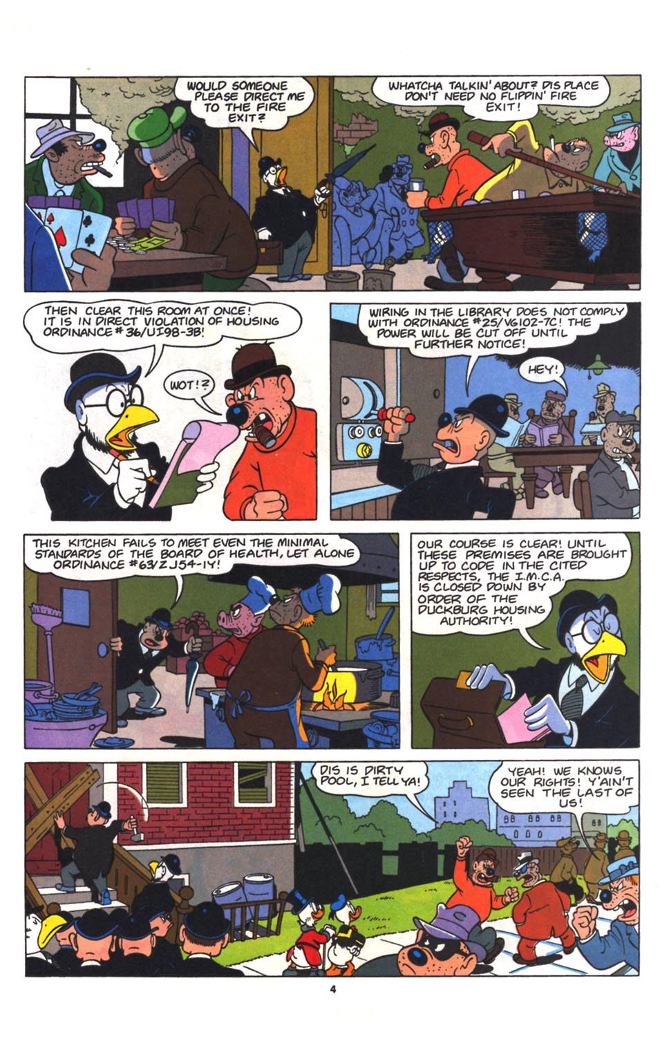 Read online Uncle Scrooge (1953) comic -  Issue #265 - 16